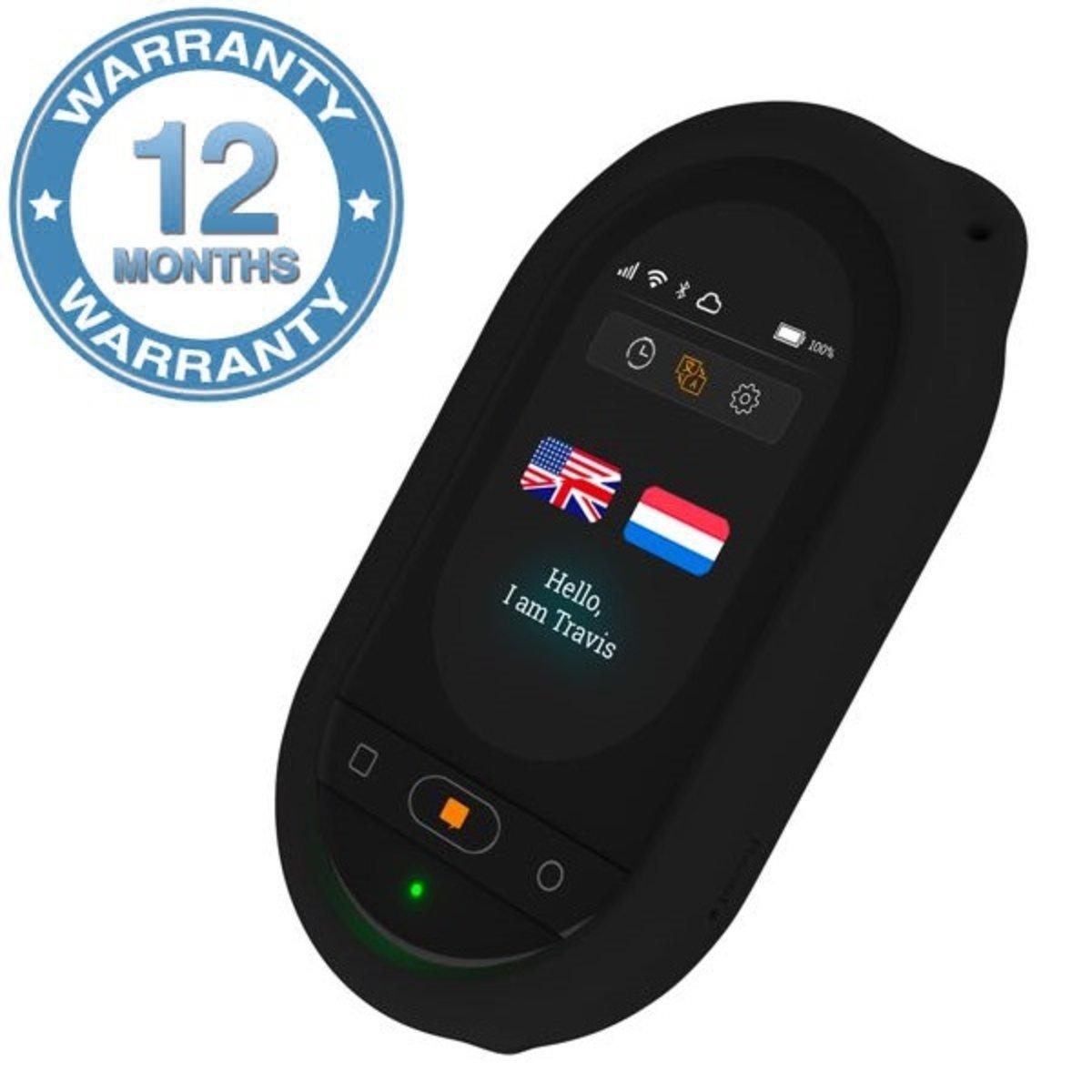 荷蘭Travis Touch 2代AI語音雙向翻譯機