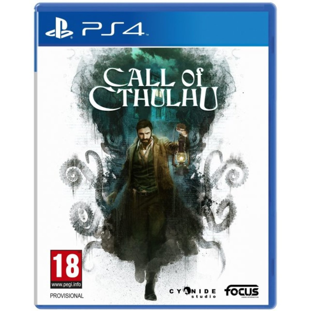 PS4 Game - CALL OF CTHULHU: THE OFFICIAL VIDEO GAME
