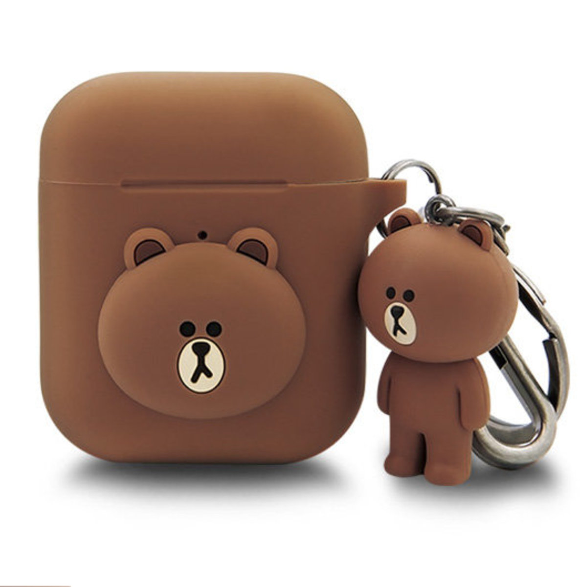 LINE FRIENDS AirPods Case with Keychain- Boy