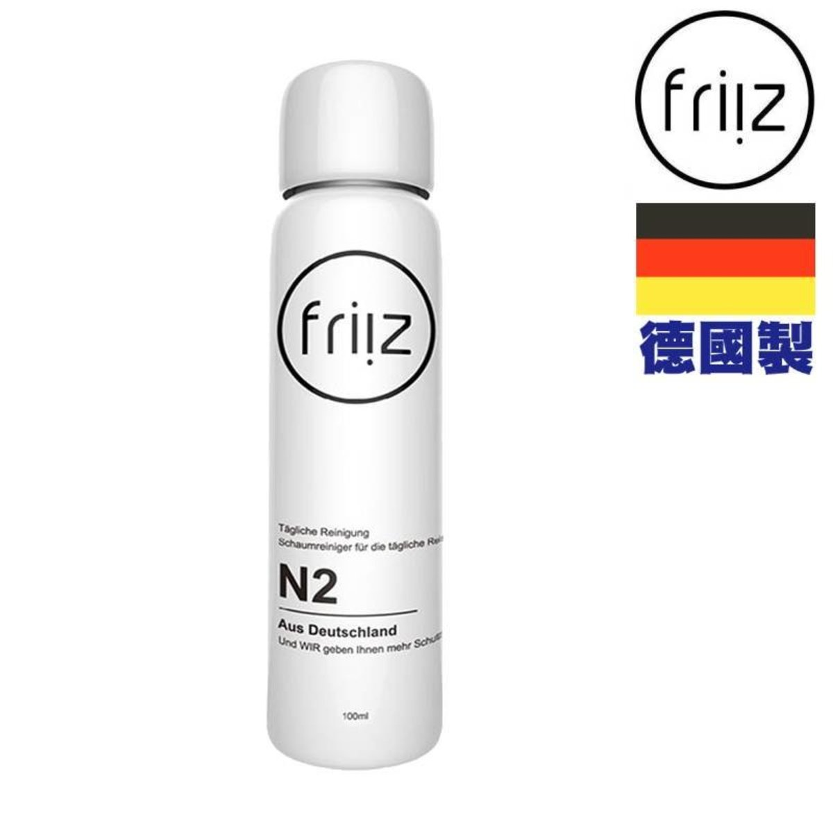 N2 strong decontamination dry foam cleaner 100ml | Made in Germany