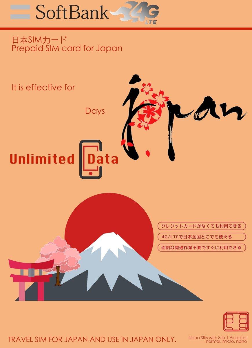 Japan Prepaid 15-Days Sim Card