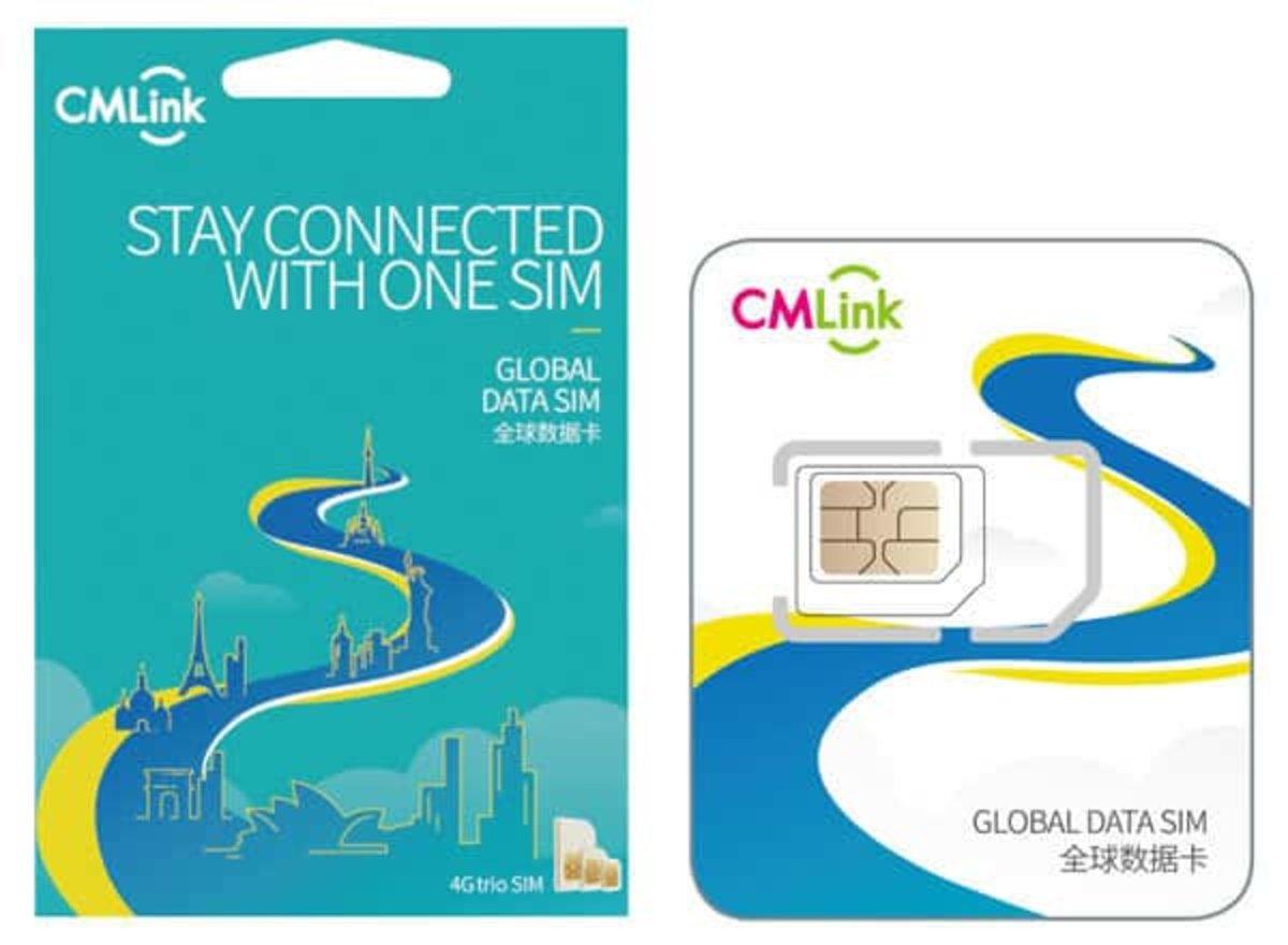 中國移動 歐洲35國家及地區10日 5GB 4G LTE 電話卡 上網卡 數據卡 SIM 卡