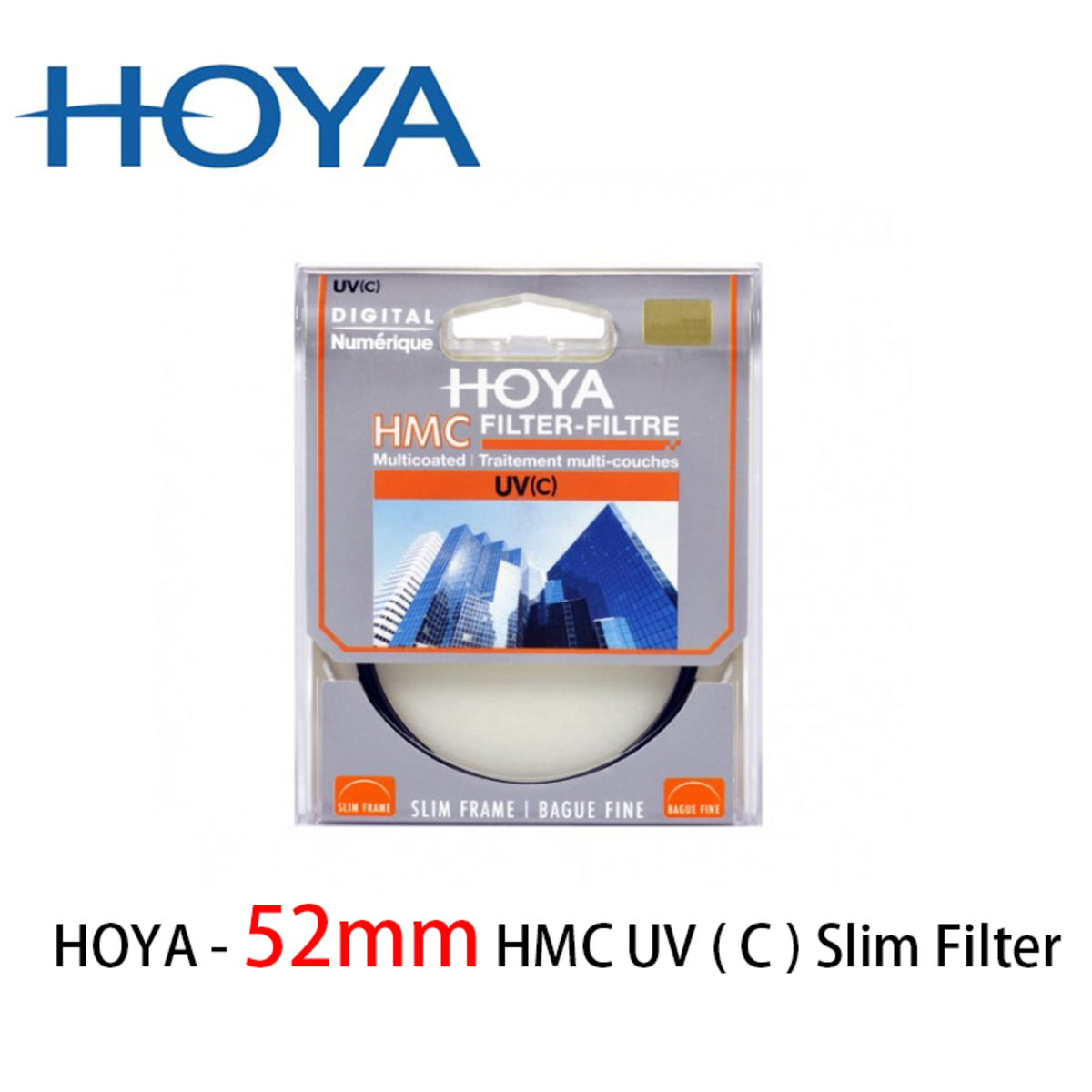 52mm HMC UV ( C ) Slim Filter 超薄 多層鍍膜  UV 抗紫外線濾鏡保護鏡