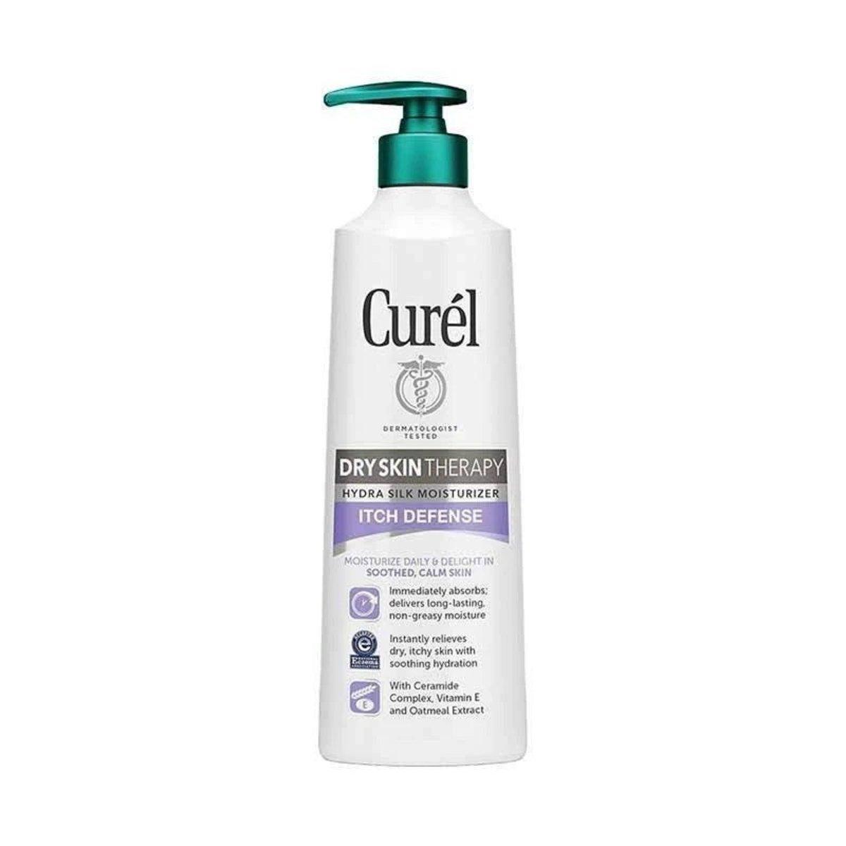 Dry Skin Therapy Hydra Silk Moisturizer Itch Defense 354ml