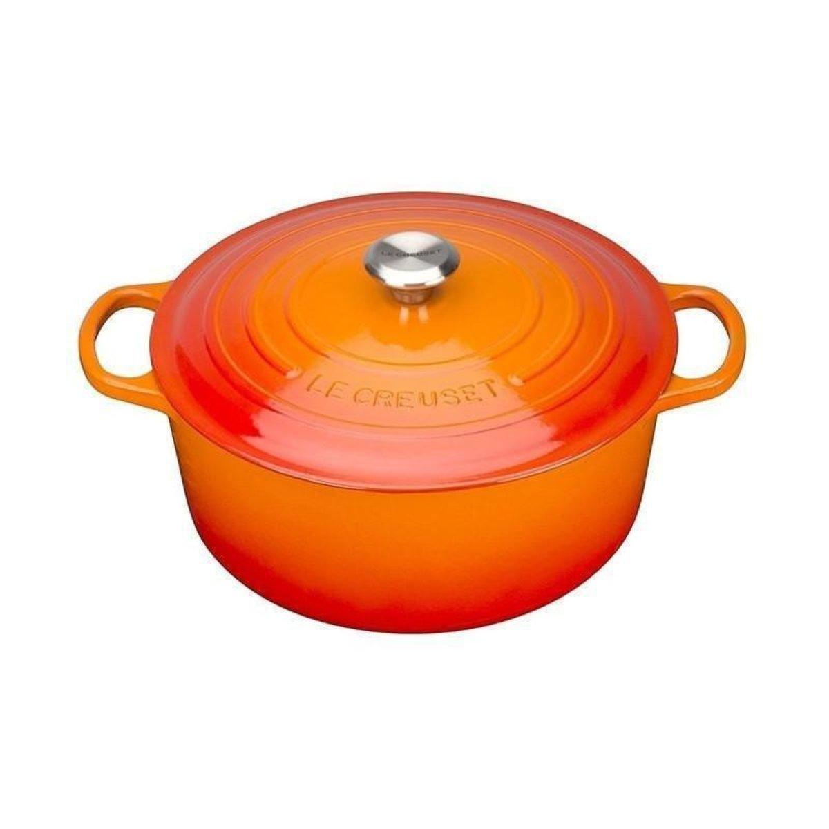 鑄鐵鍋 橙 Volcanic - 18cm