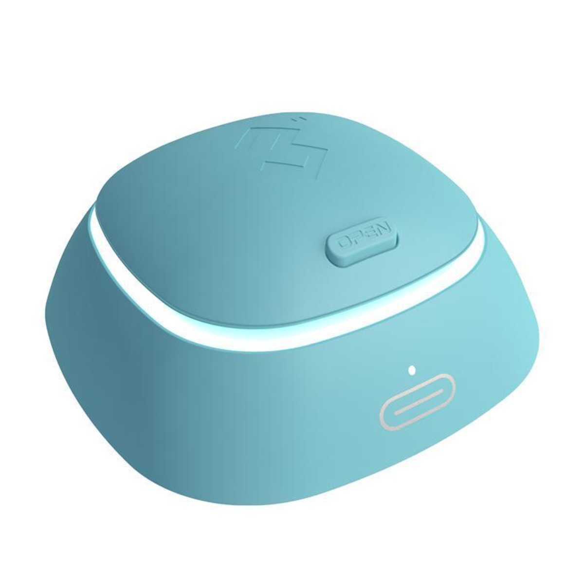 Contact lens cleaning machine fourth-generation standard version licensed in Hong Kong - Blue