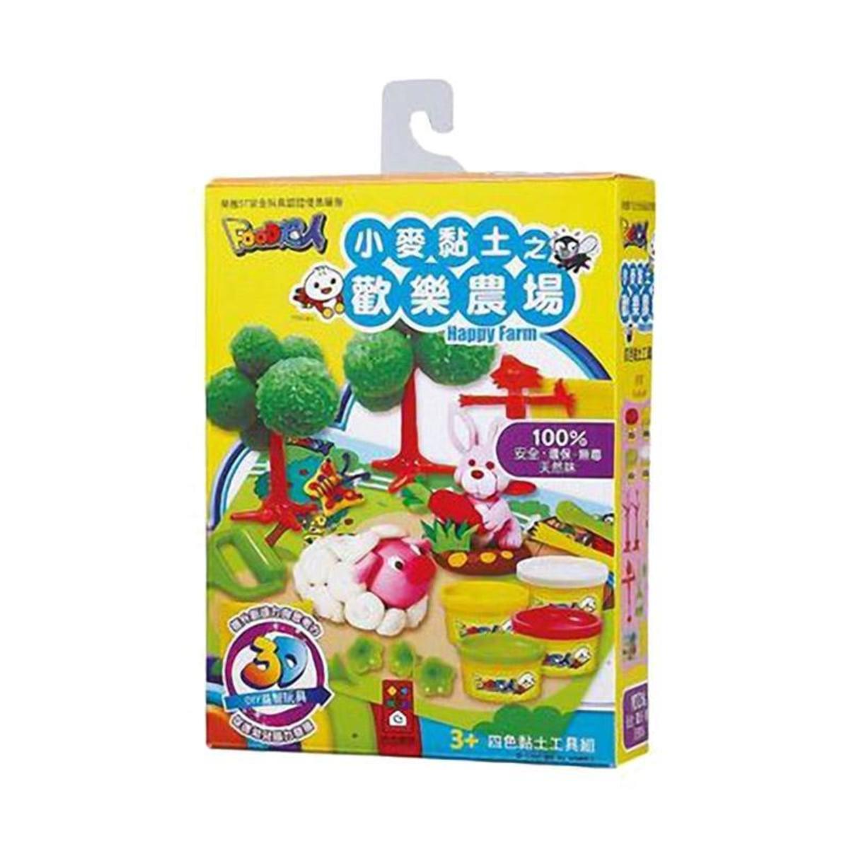 Publishing FOOD Superman Wheat Clay (4 models) Taiwan Import - Happy farm
