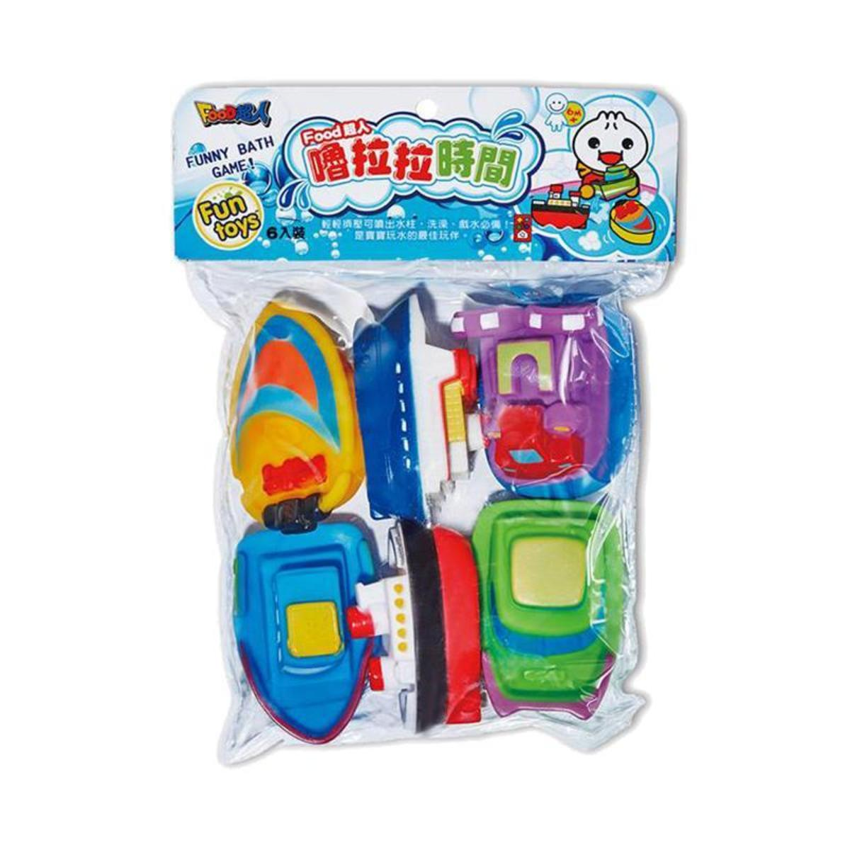 Publishing Time Children's Bath Toys (4 models) Taiwan Import - boat