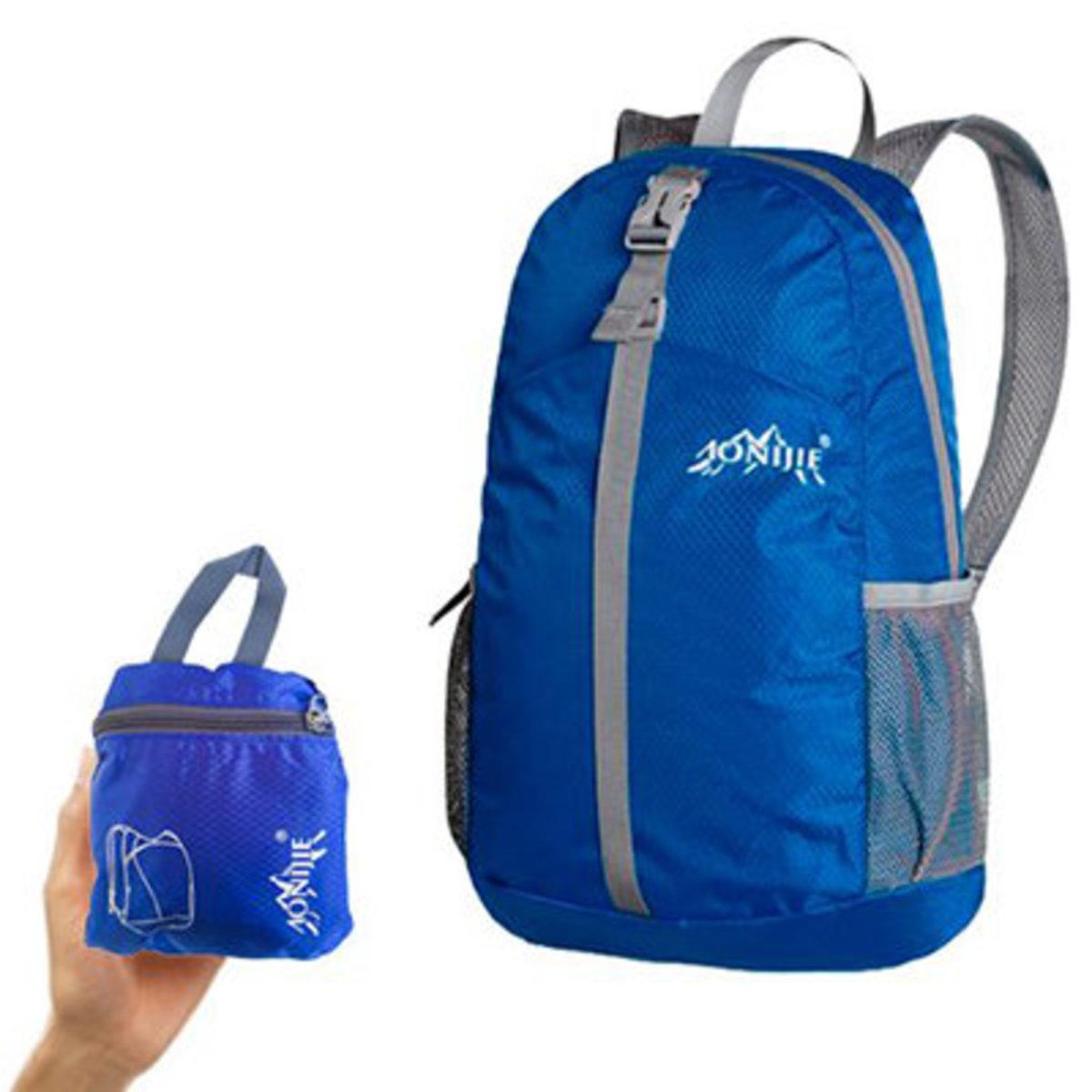 Lightweight, foldable backpack