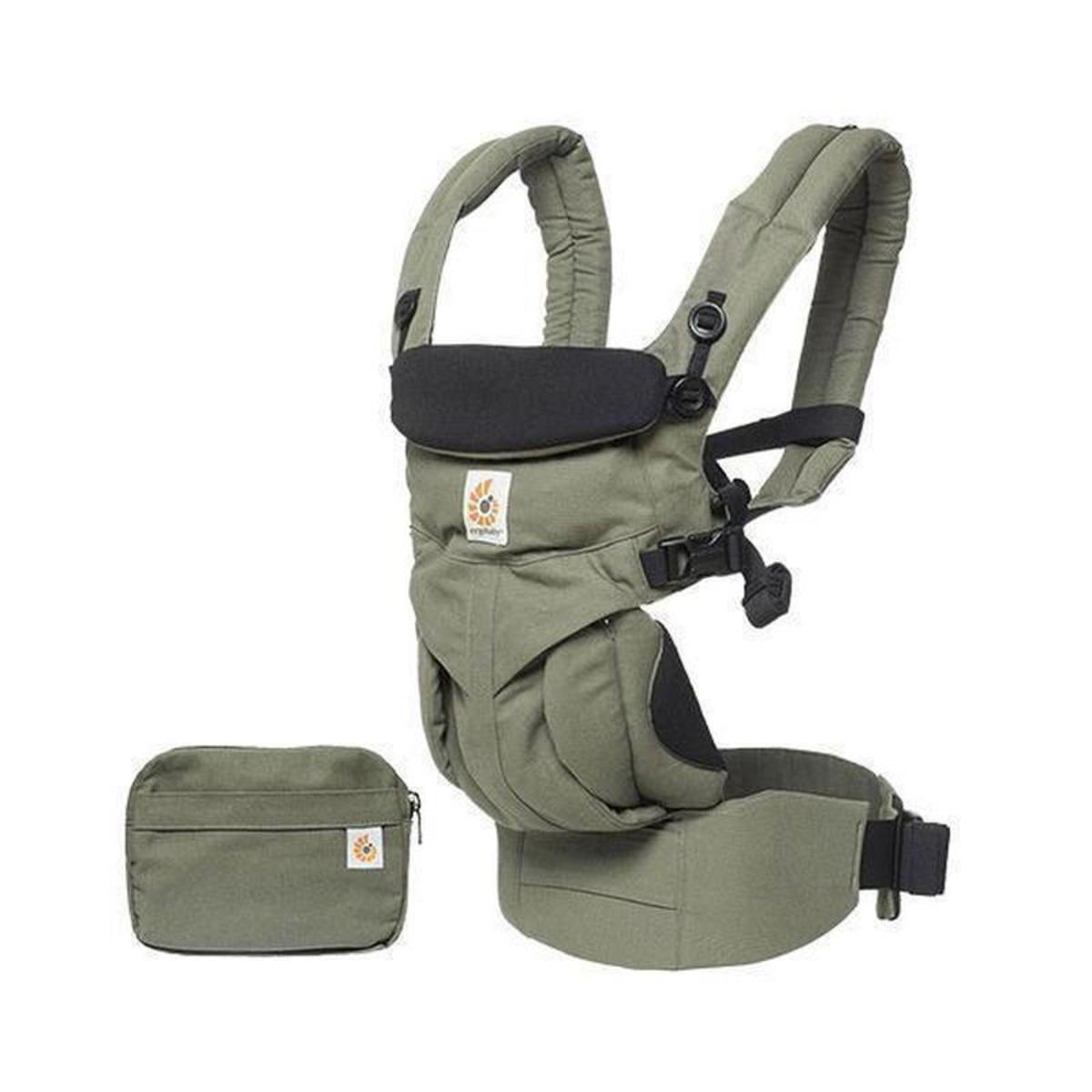 Ergobaby Omni all-stage four-type 360 baby carrier (6 models) - Khaki Green