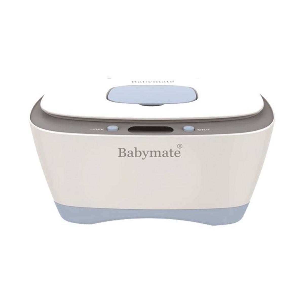 嬰兒濕紙巾保溫盒 - 粉藍色