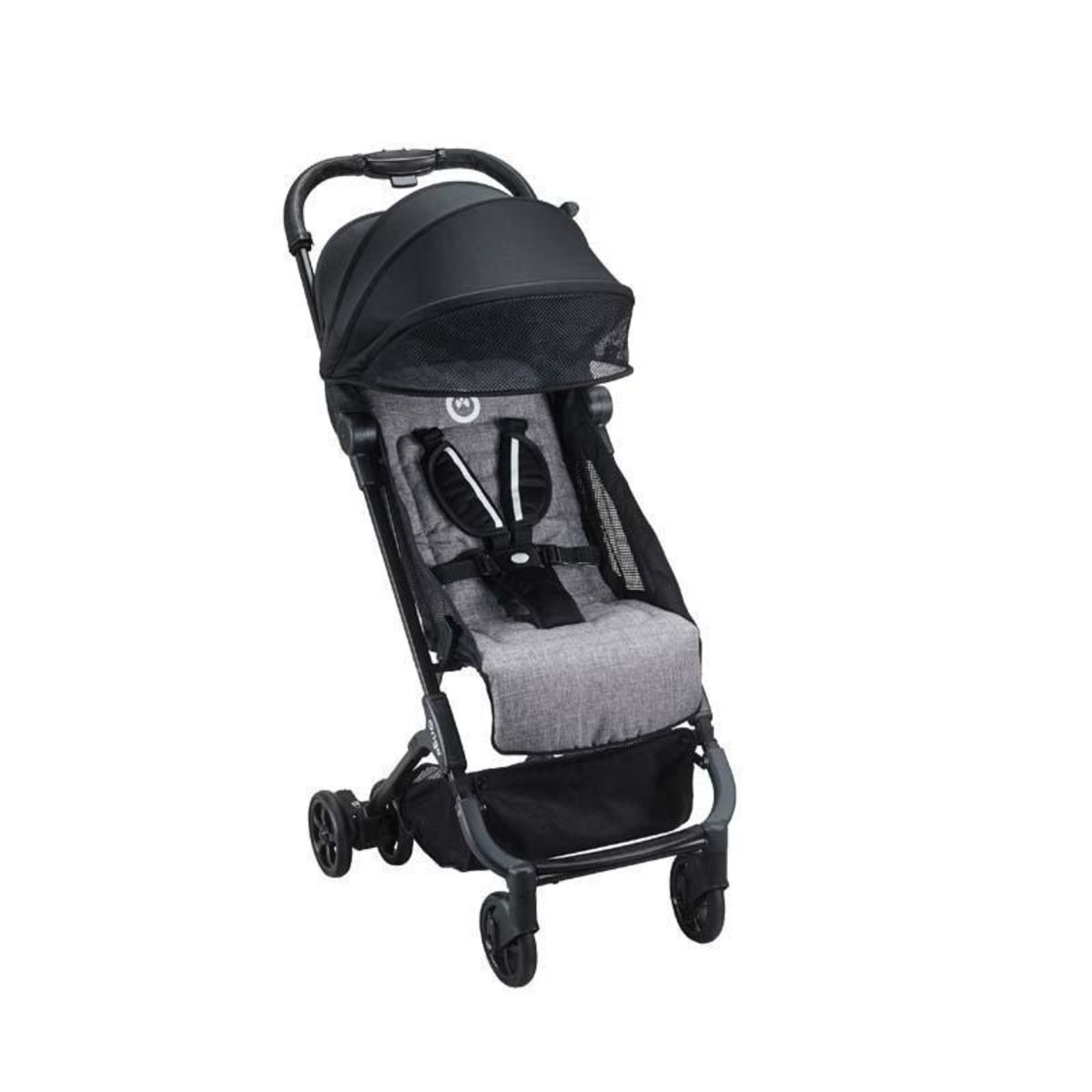 Bubble feather lightweight folding stroller 0-4 years British brands - charcoal black