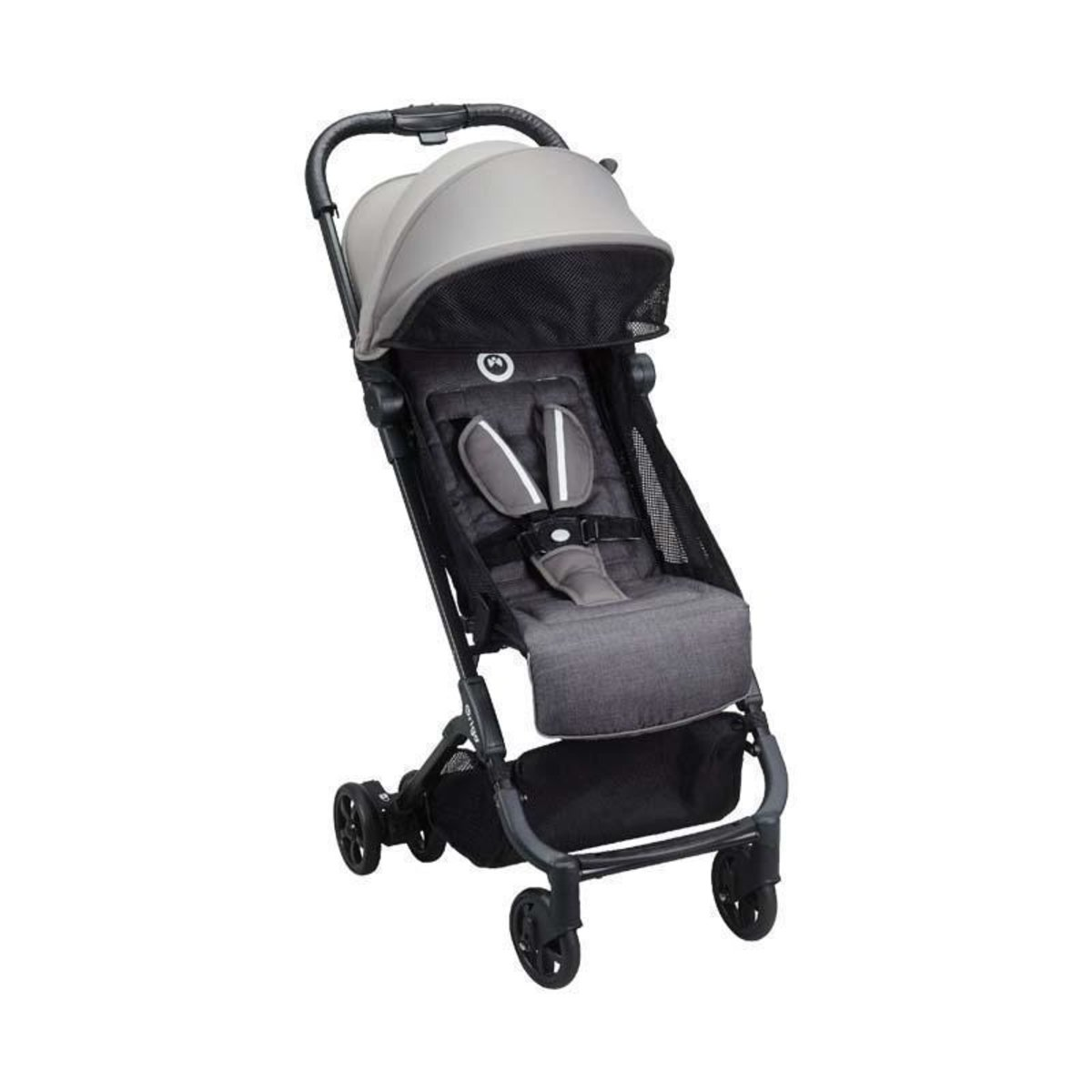 Bubble feather lightweight folding stroller 0-4 years British brands - Graphite Gray