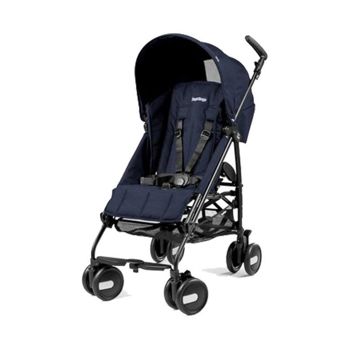Peg-Pérego Pliko Mini baby stroller (0-4 years old) (various models) - Straight grain dark blue