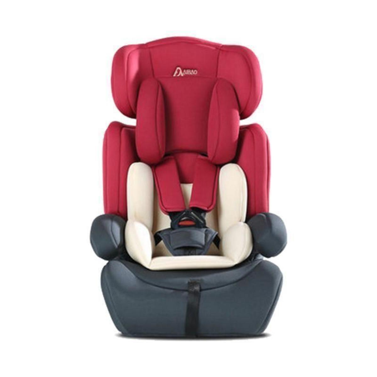 Aibao Aibo Child Car Seat (Multicolor) - Red gray