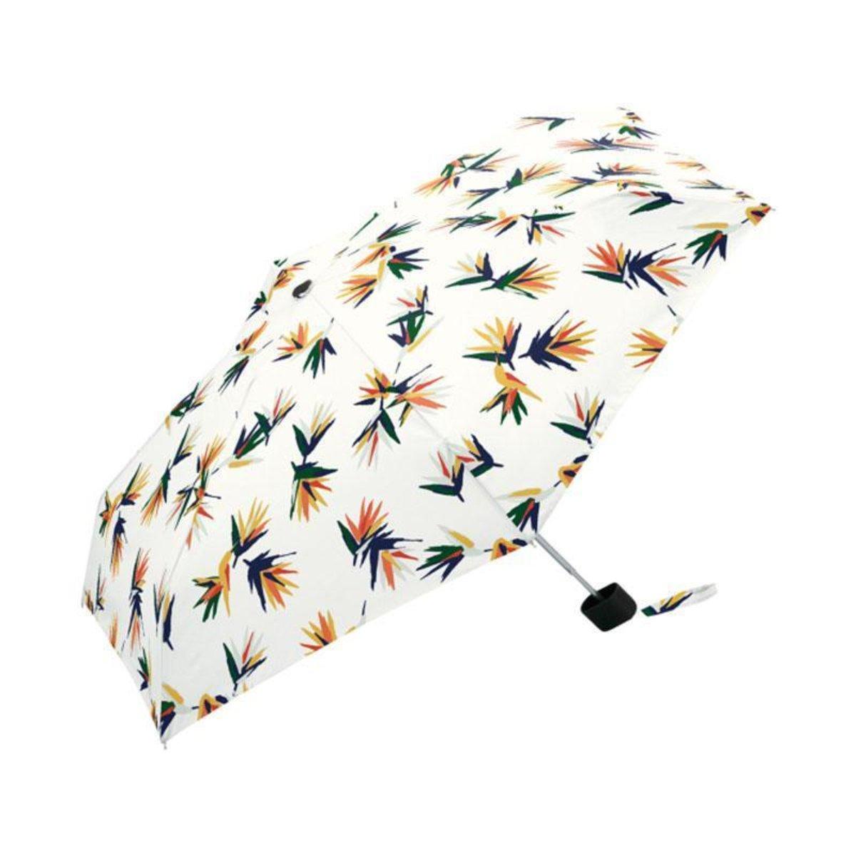 KiU Tiny 迷你縮骨遮 防UV雨傘 日本品牌 - 南國花鳥 Strelitzia