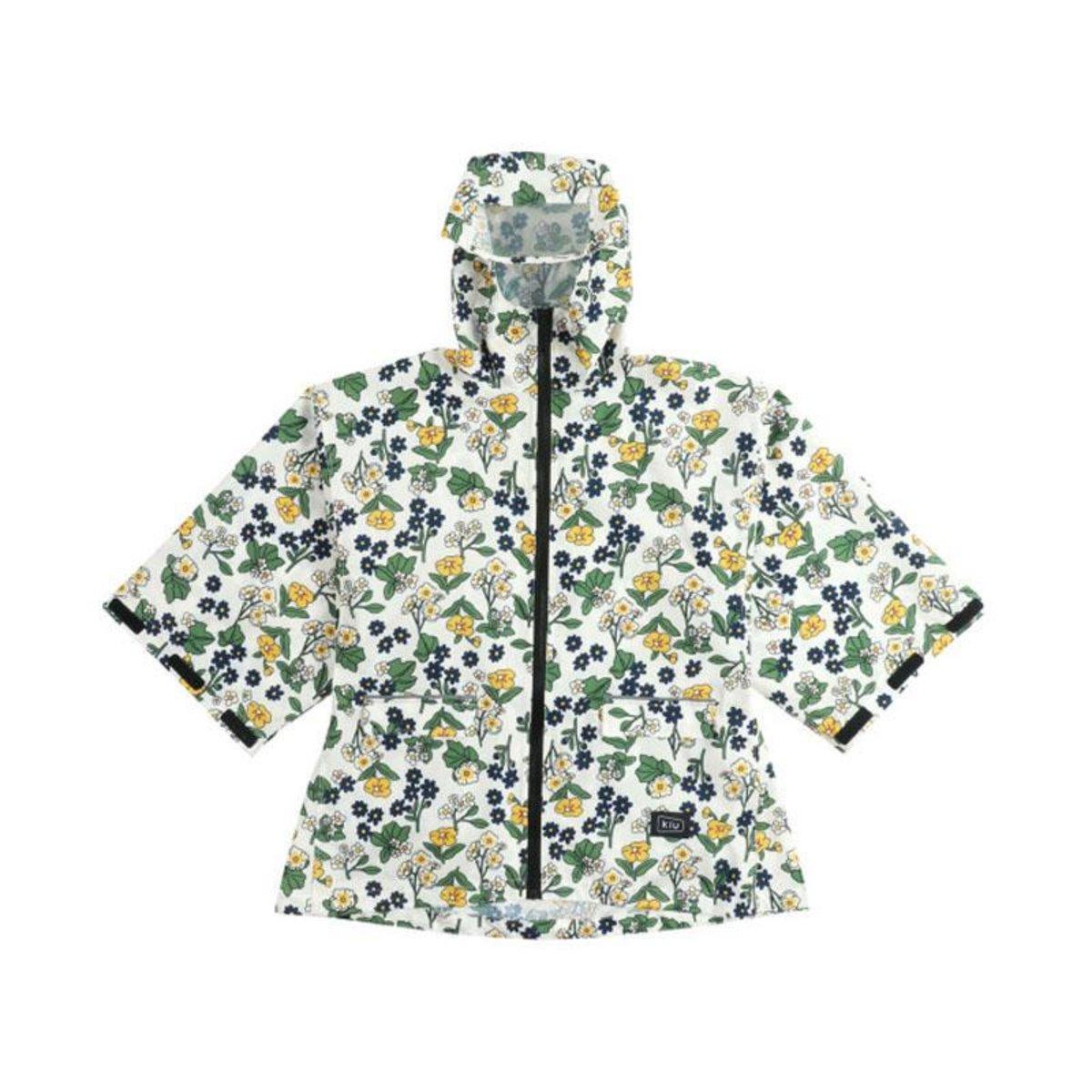 KiU 兒童雨衣 日本品牌 - 花朵 FLORA OFF