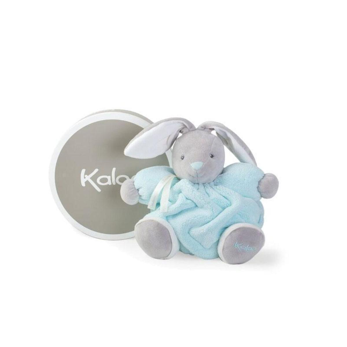 Kaloo Plume Bunny Rabbit (中) French Brand (2 colors) - Light blue