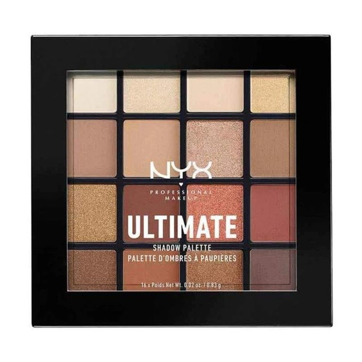 Ultimate 16-color eye shadow - 03 - Warm Neutrals