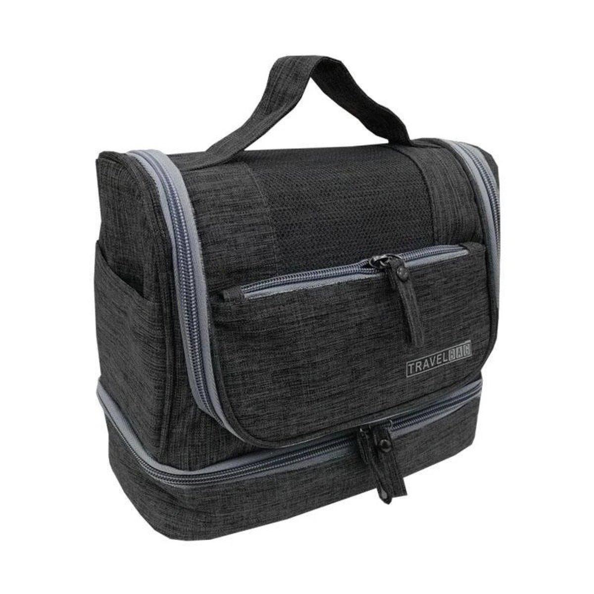 旅行防水懸掛收納袋 - 黑色