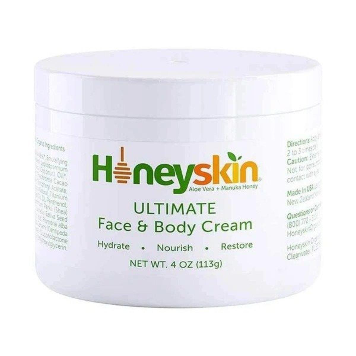 蘆薈 + 麥盧卡蜂蜜 面部及身體乳霜 - 113g