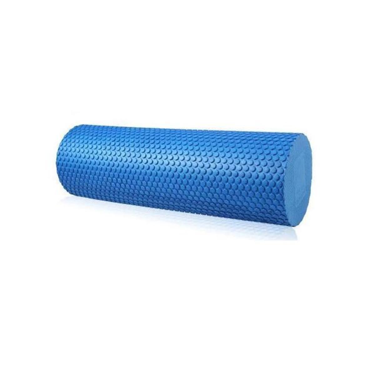 EVA實心浮點瑜伽柱 瑜伽棒 (粉/藍/紫) - 藍色