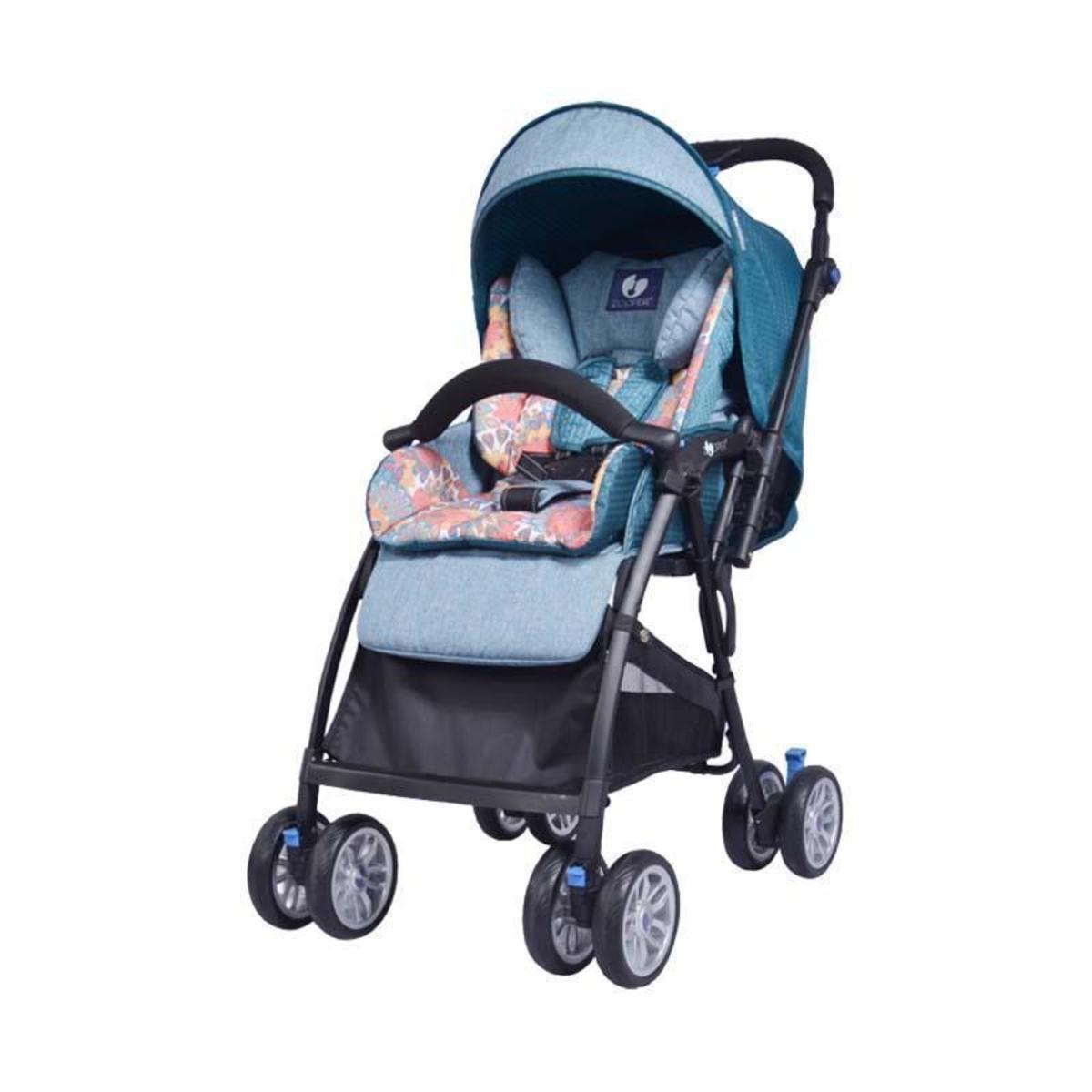Zooper® Salsa2 All Weather Folding Stroller 0-36 Months American Brand - Sea blue