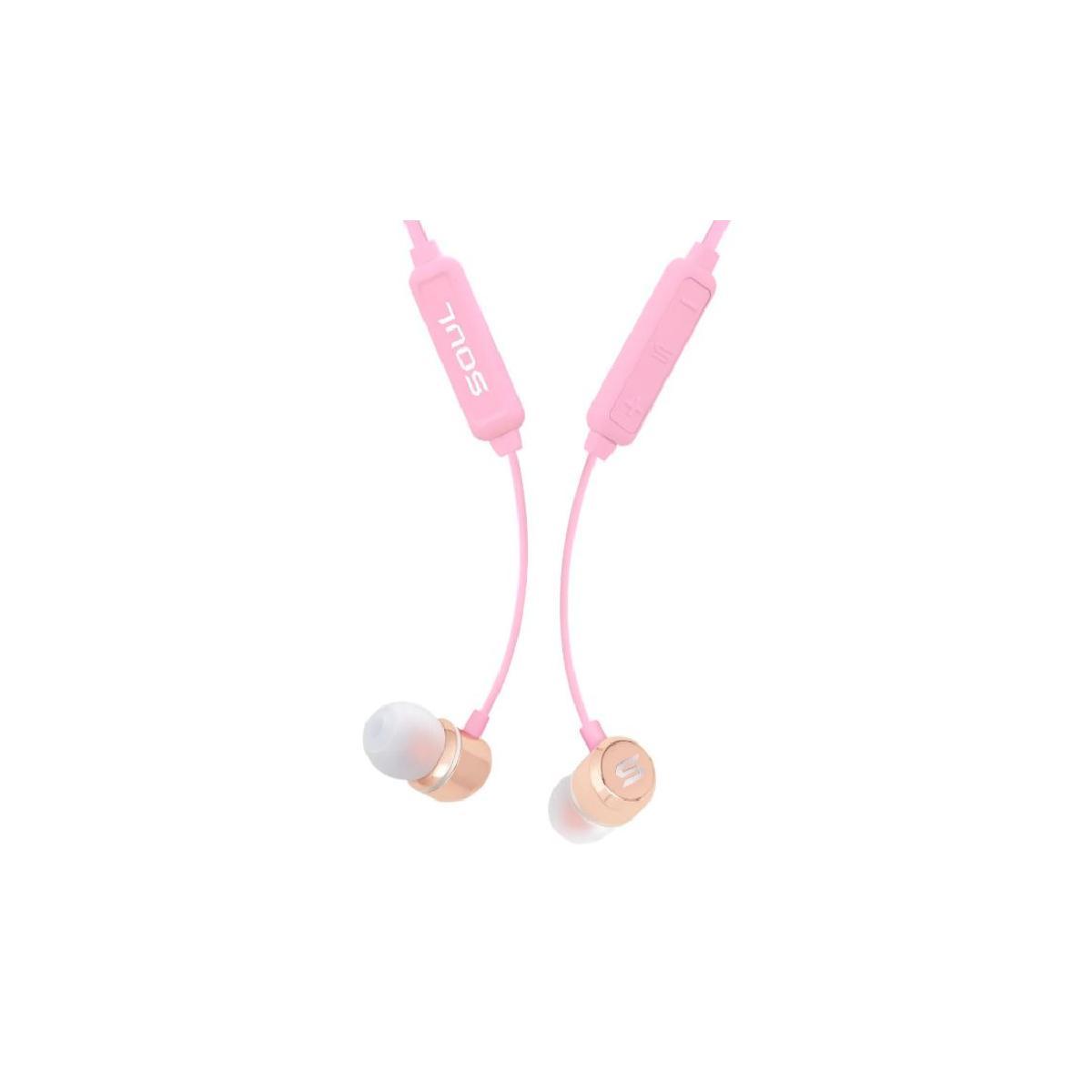 Prime Wireless Bluetooth Headphones Pink