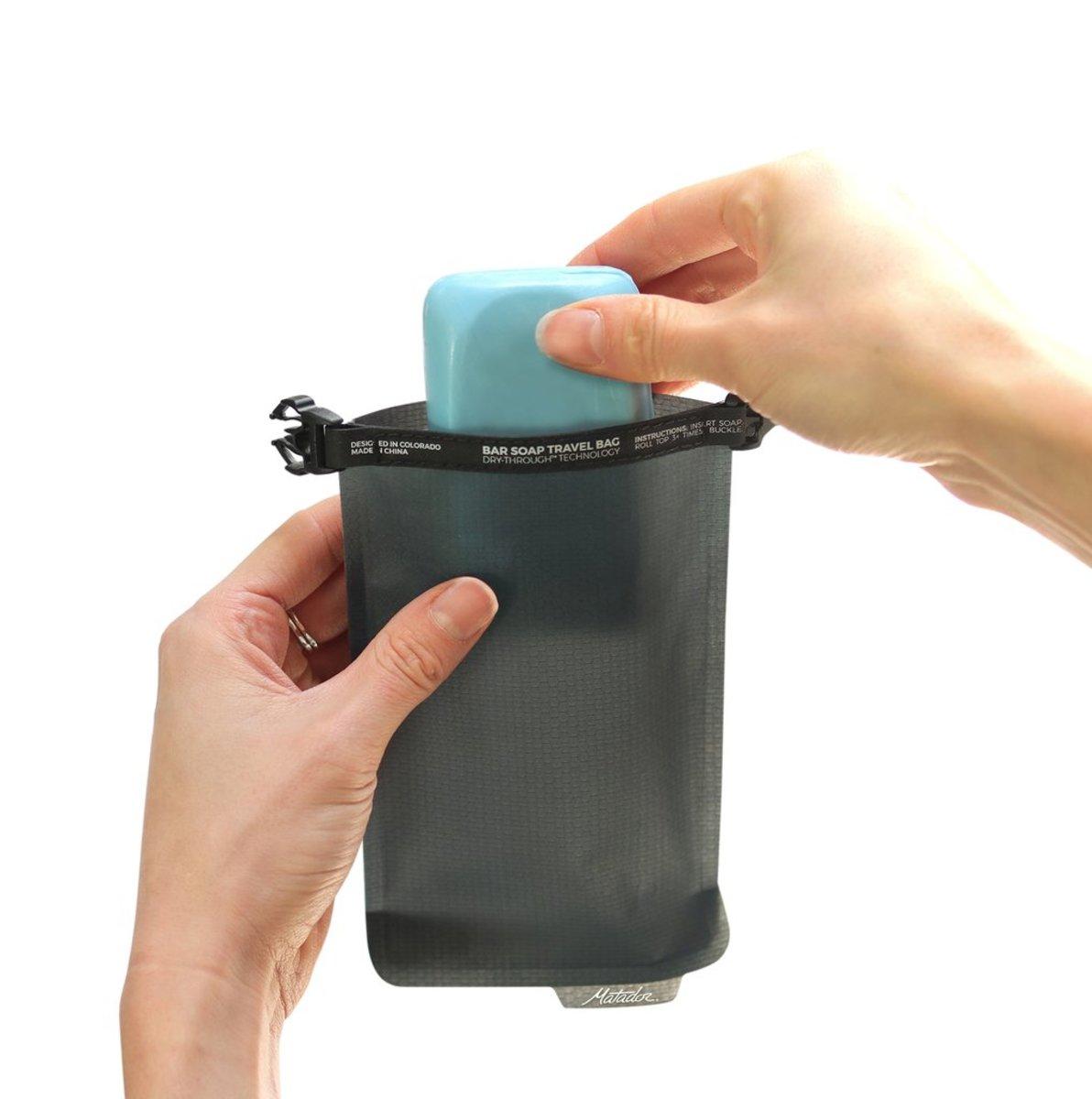 Matador Hk Flatpak Soap Bar Case Leak Proof Welded Hktvmall Toiletry Bottle 1 Pack Photo Description