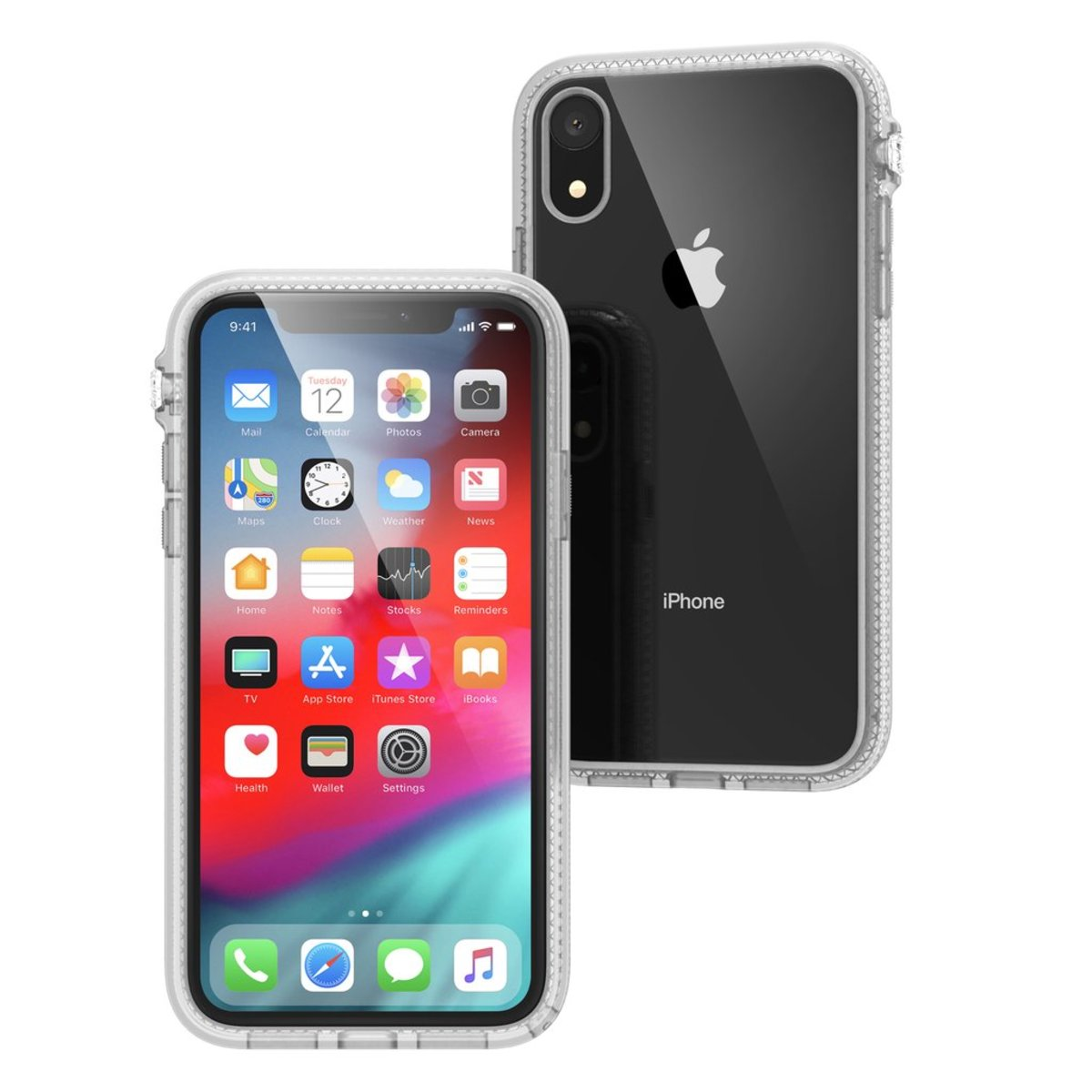 """IMPACT PROTECTION military standards CASE FOR Apple Iphone XR  6.1"""" Transparent"""
