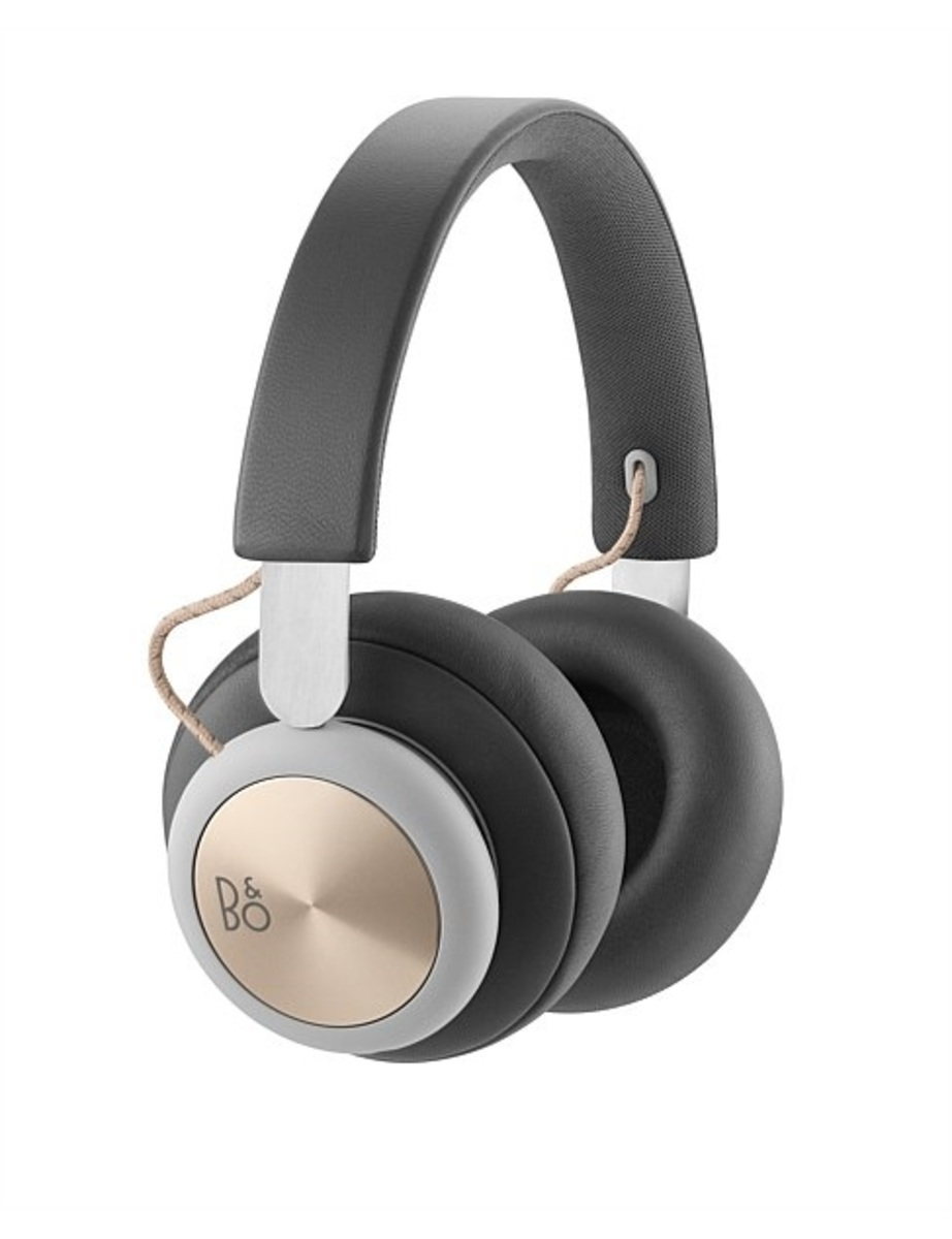 B & O H4 WIRELESS OVER-EAR HEADPHONES charcoal grey  HK Geniue