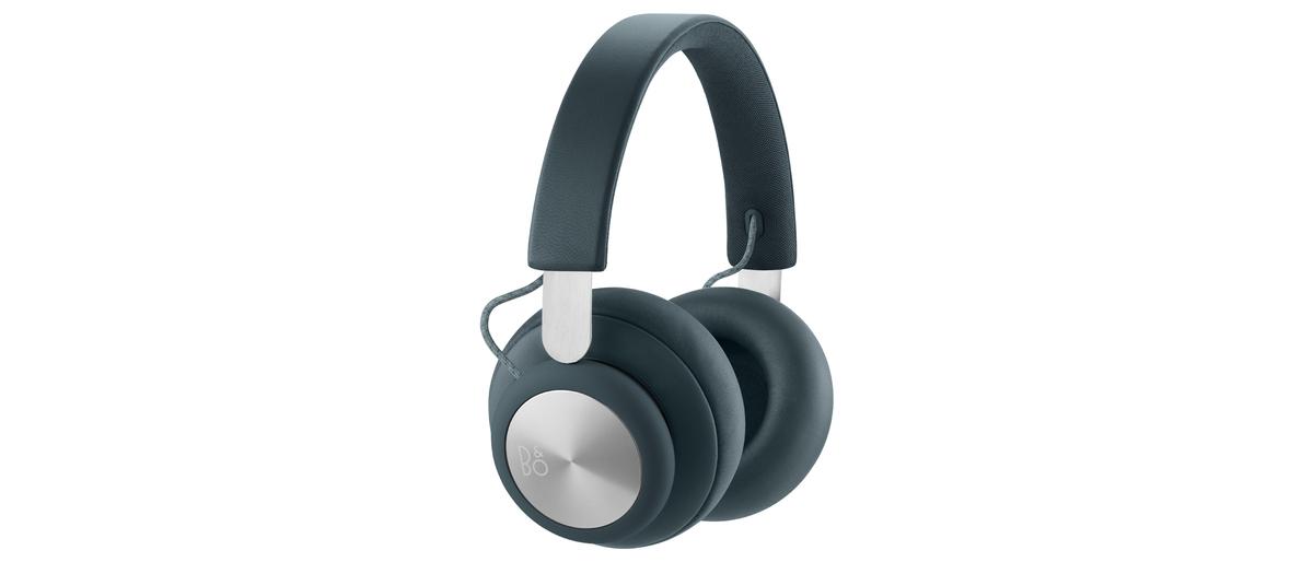 B & O H4 WIRELESS OVER-EAR HEADPHONES Steel Blue HK Geniue