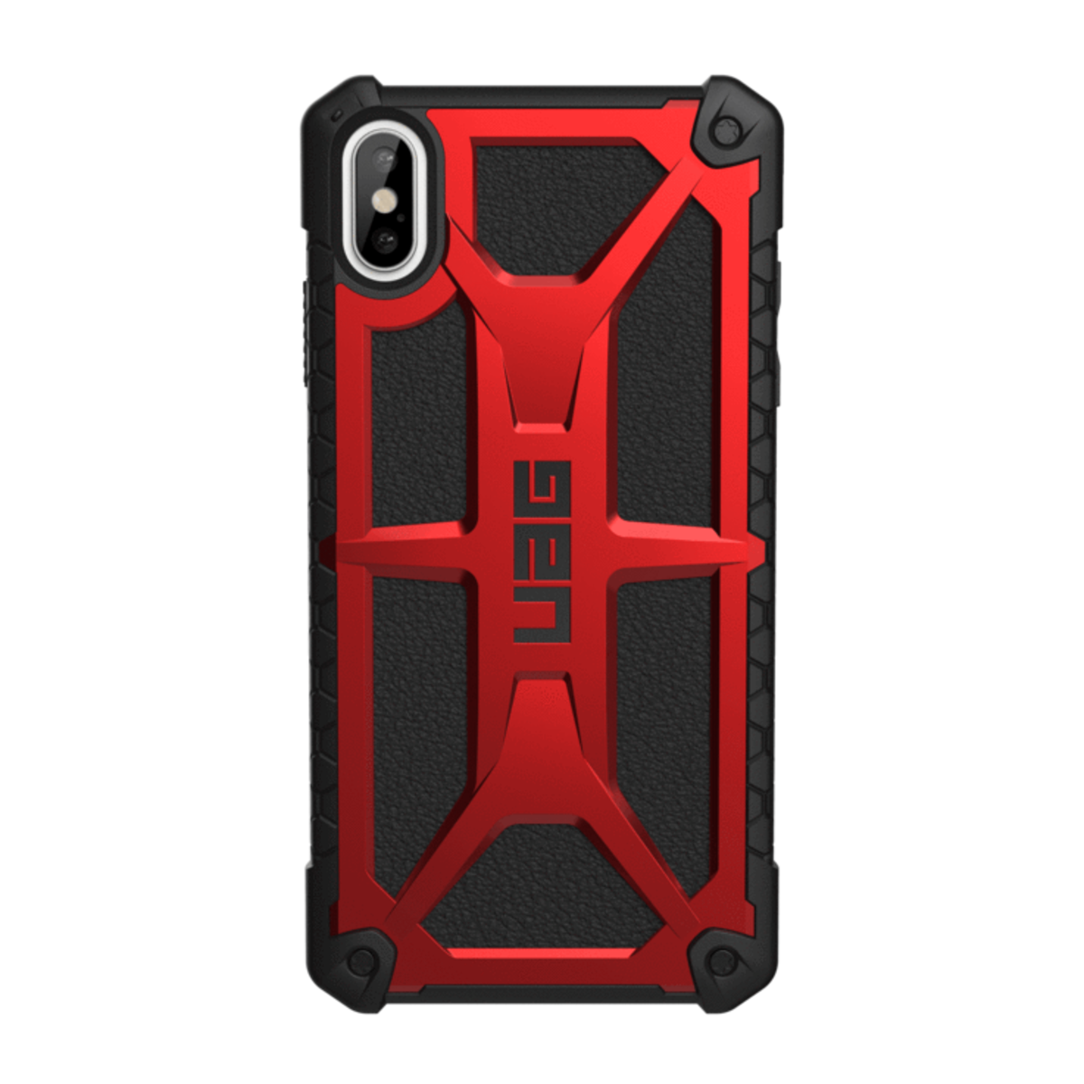 USA military standards Apple Iphone Xs MAX Cases MONARCH Crimson