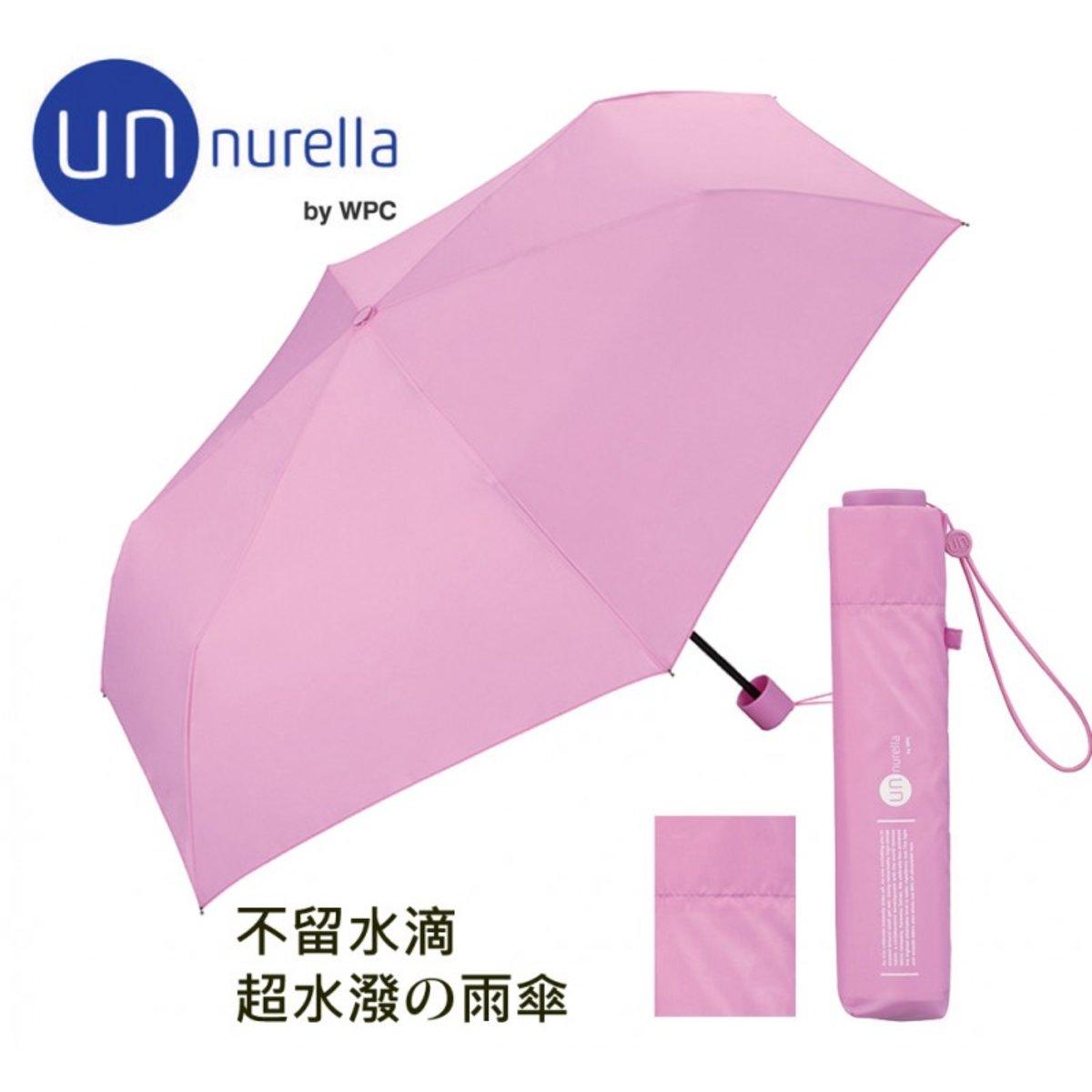 Japan Unnurella Folding umbrella Super splashing Anit 99% UV Un-106-PK PINK