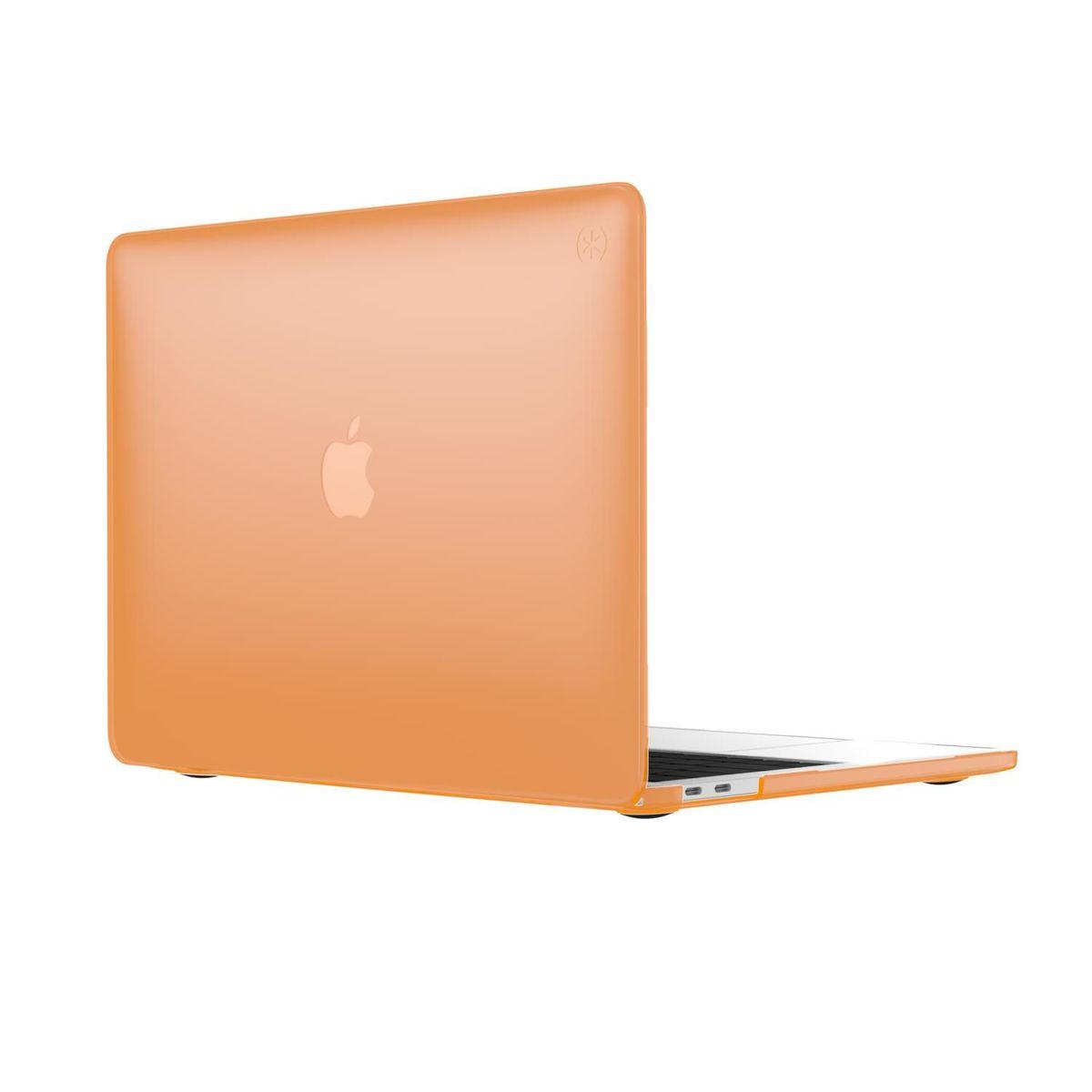 "SmartShell Apple Macbook Pro 13"" 有/沒有Touch Bar (2016或更新) Perismmon Orange"
