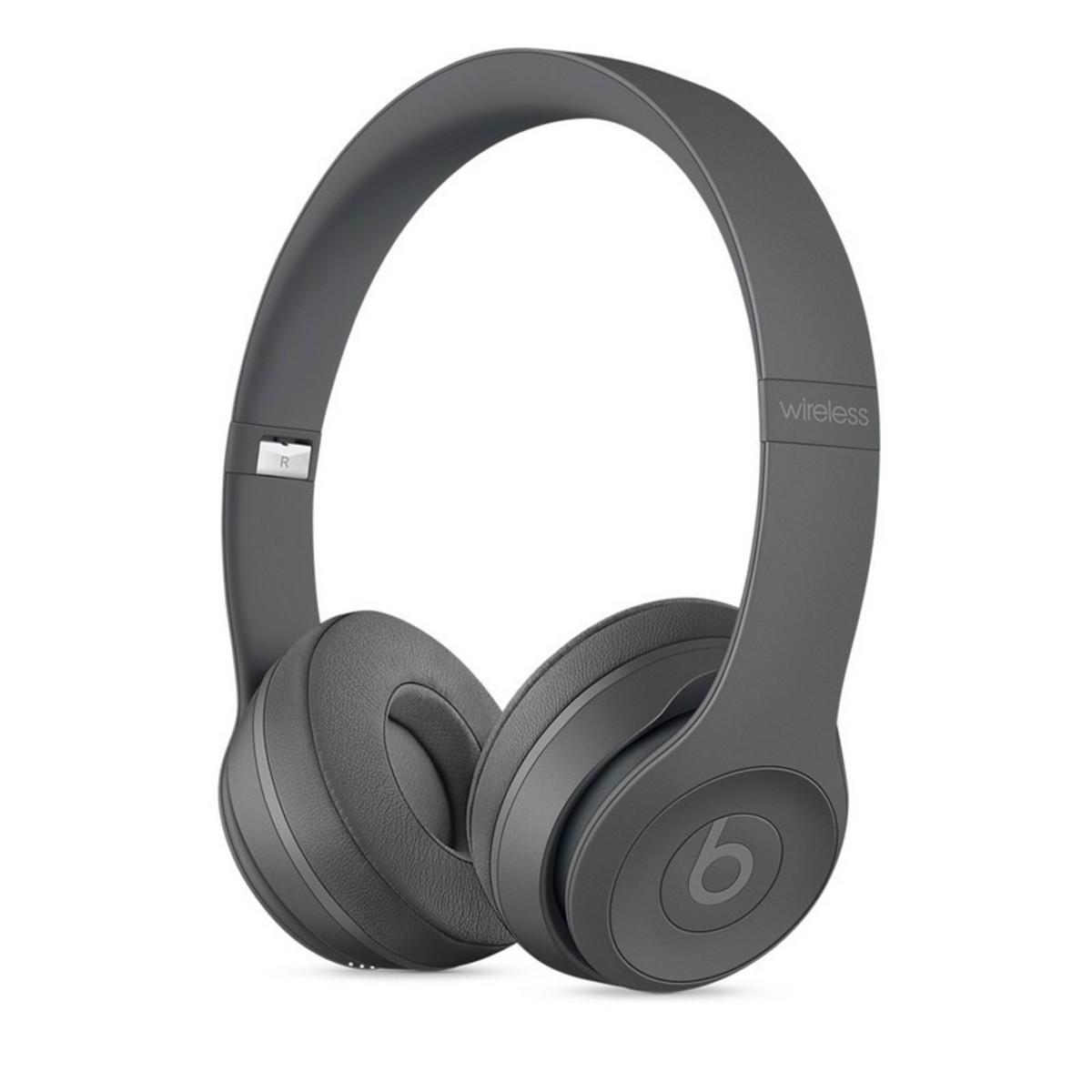 Beats Solo 3 無線藍牙立體聲頭戴式耳機 Asphalt Gray