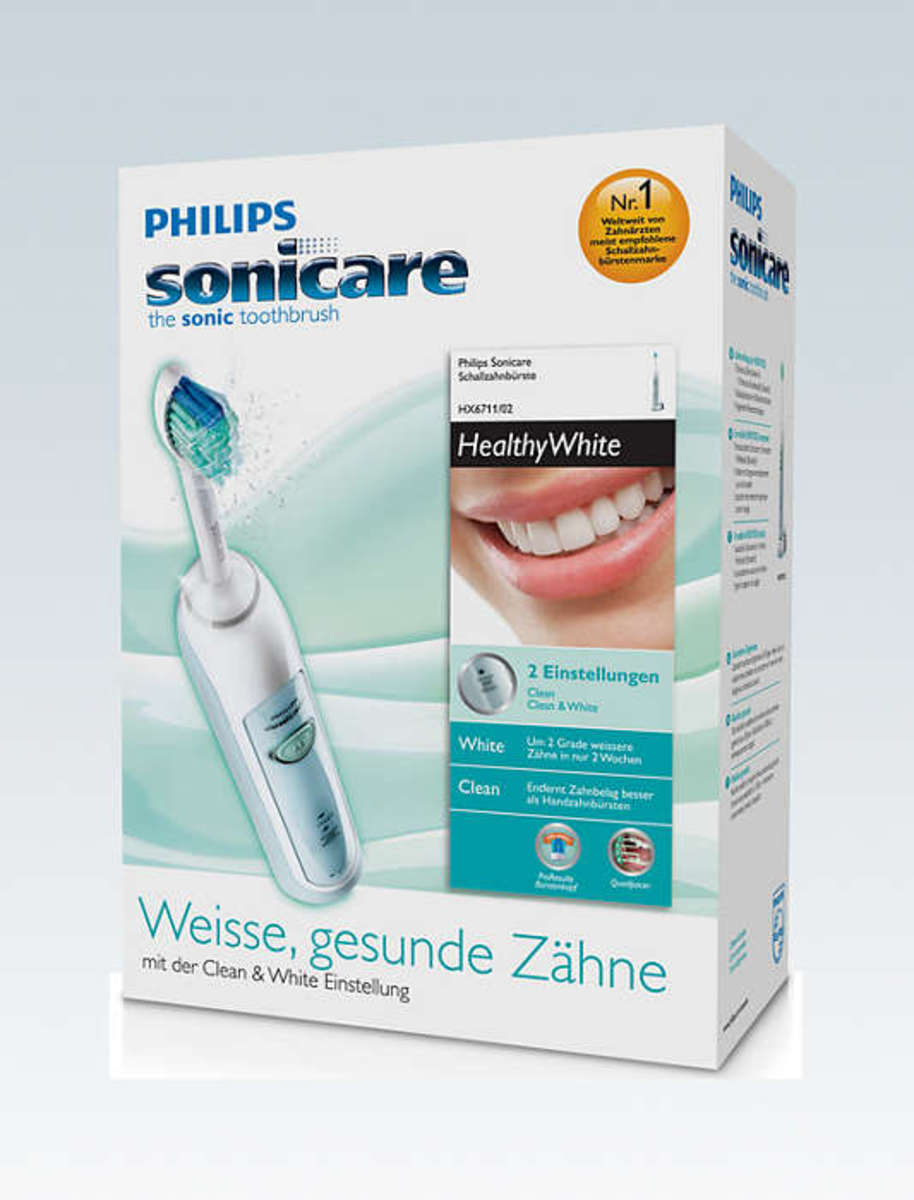 Sonicare HealthyWhite Electric Toothbrush HX6711