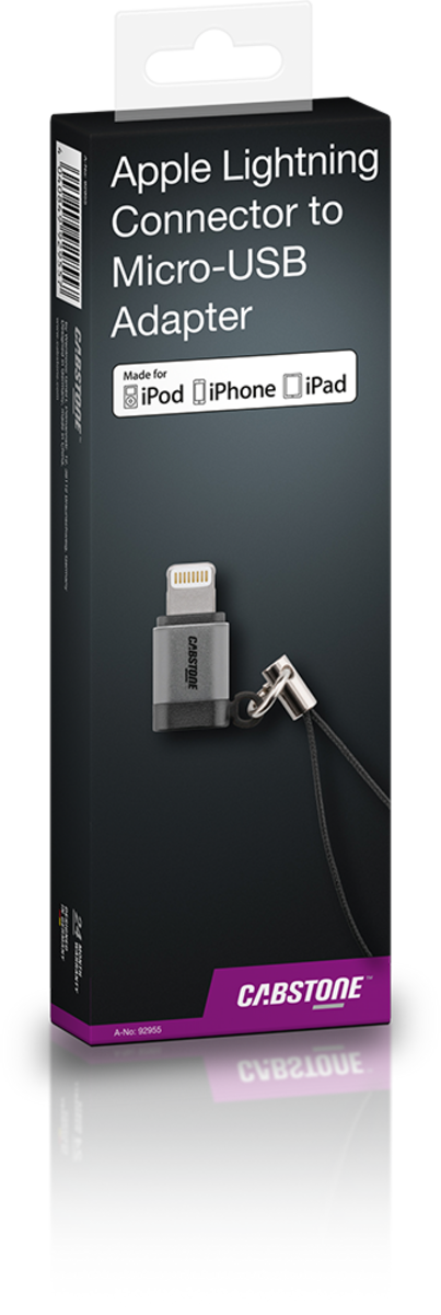Apple Lightning Connector連接Micro-USB連接器 MFI