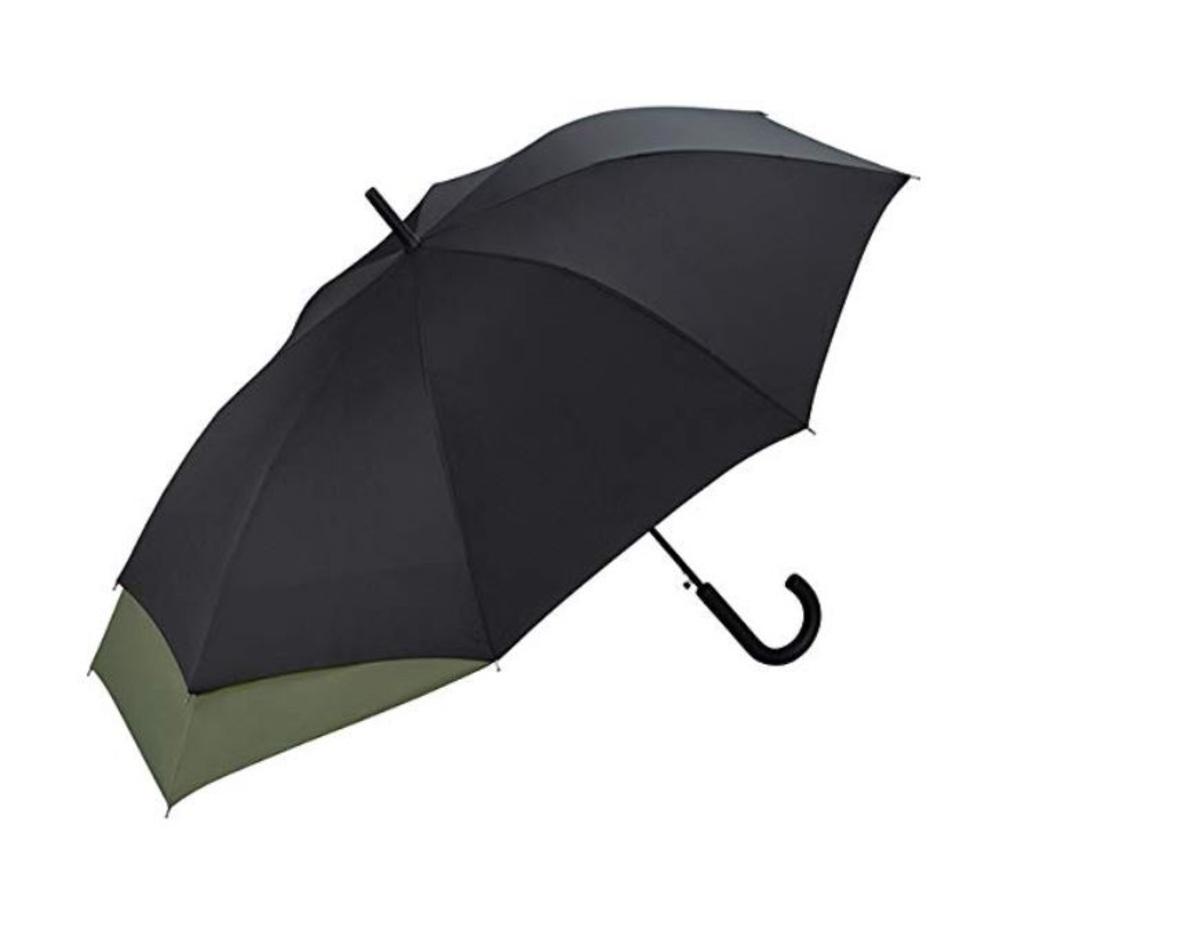 Couple backpack Stick Umbrella 60cm BLACK MSU-900