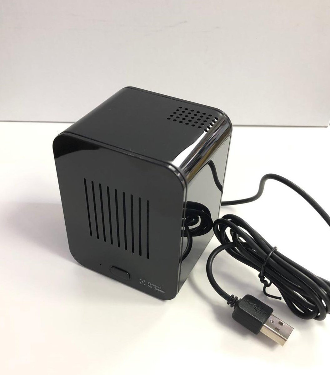 [HK Warranty] M7070 HEPA Personal USB Air Cleaner Black