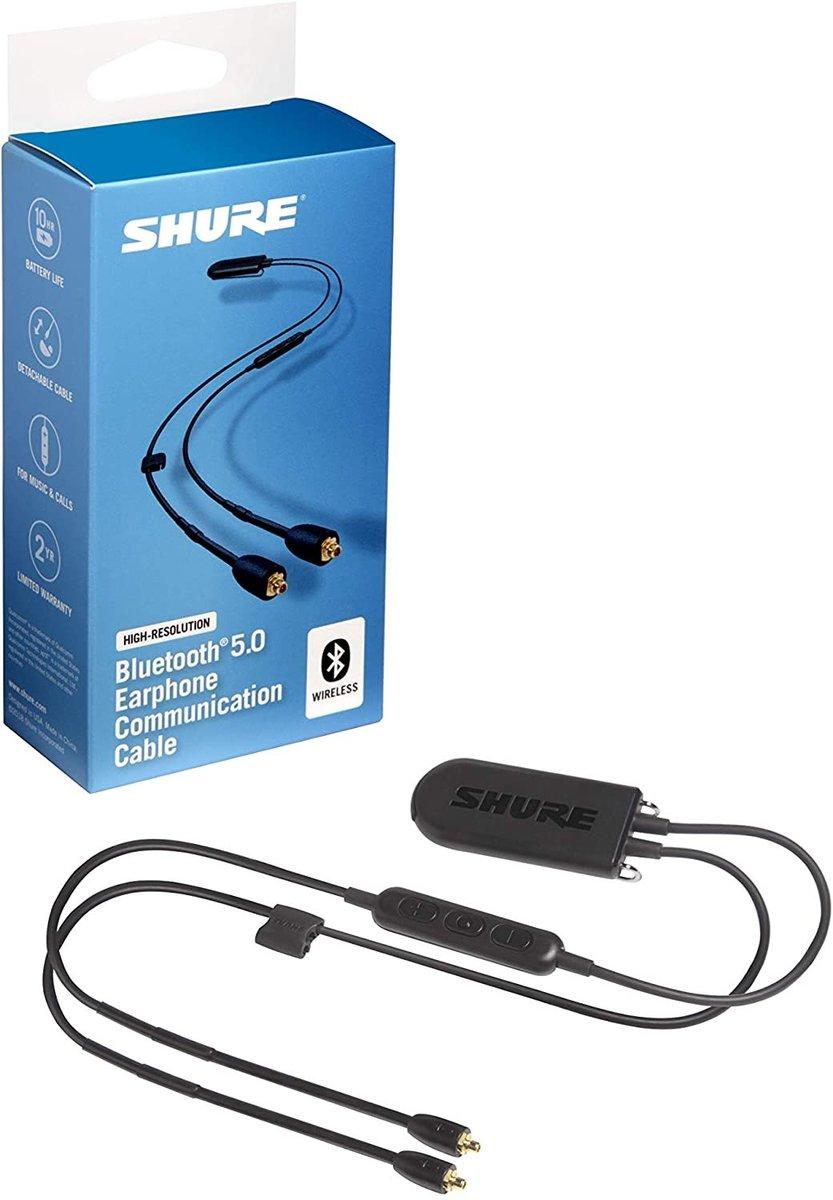 Shure RMCE-BT2 高分辨率藍牙5.0 轉接耳機線