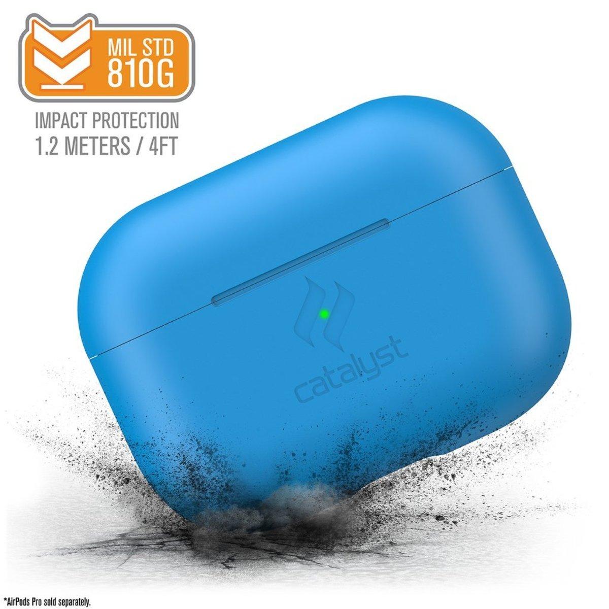 香港行貨 SLIM 防撞 保護套 Airpods Pro Neon Blue