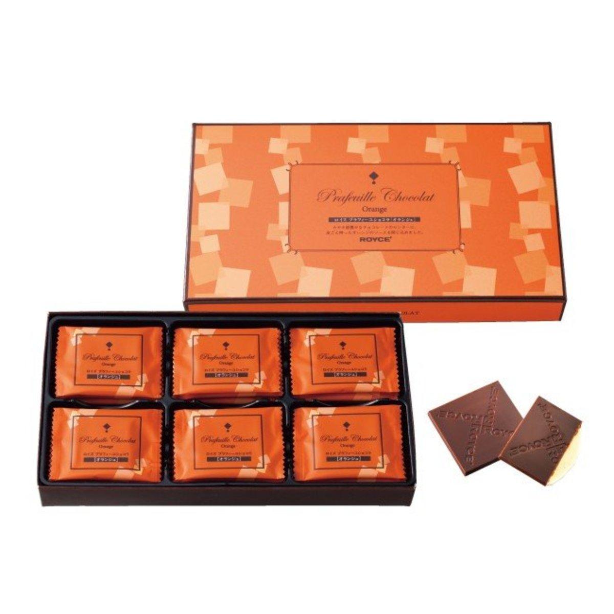 Orange Flavour Chocolate 30pcs (4903379032046)
