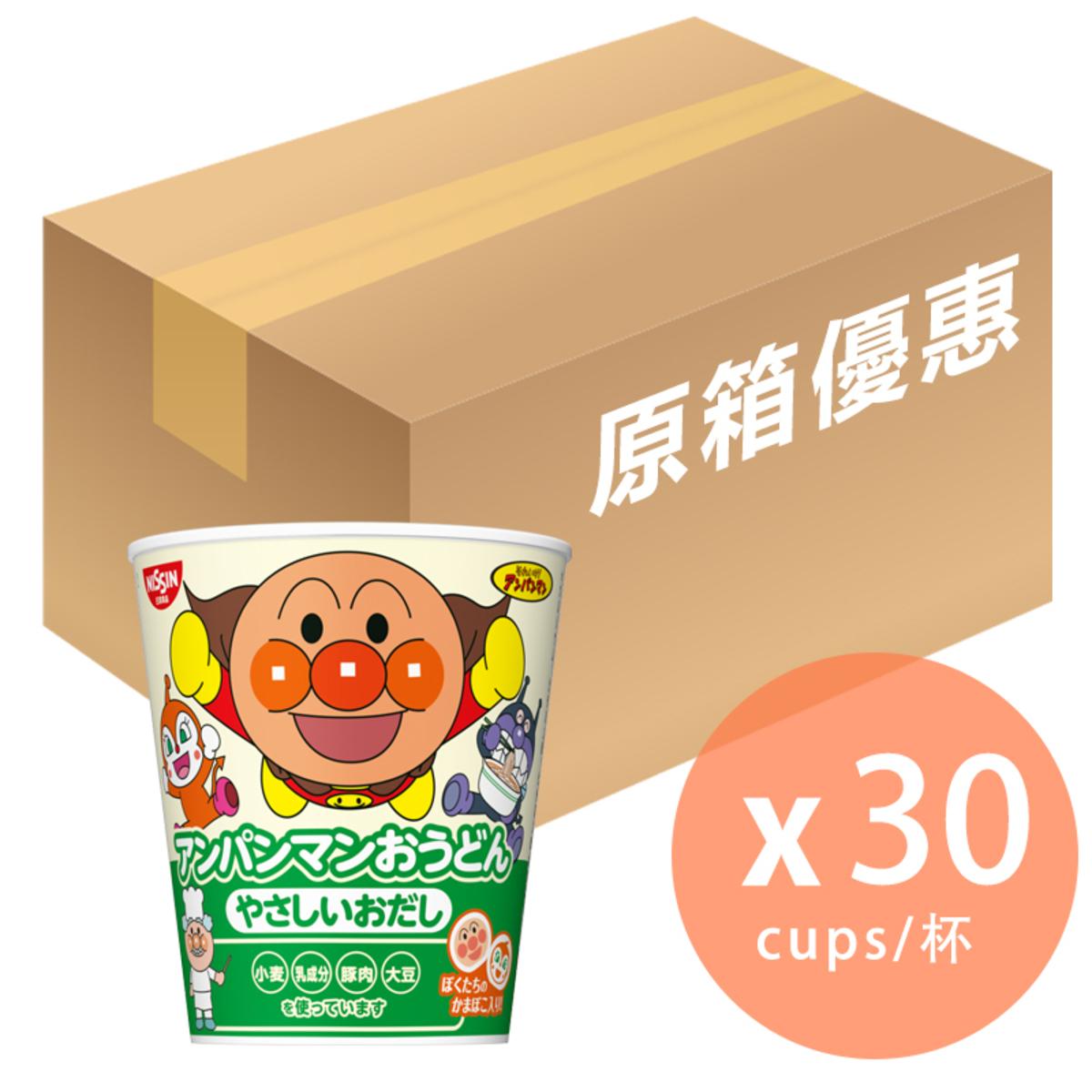 Anpanman Chicken Soup Udon 32g x 30 (4902105227084_30)