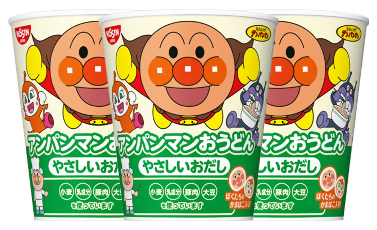 Anpanman Chicken Soup Udon 32g x 3 (4902105227084_3)