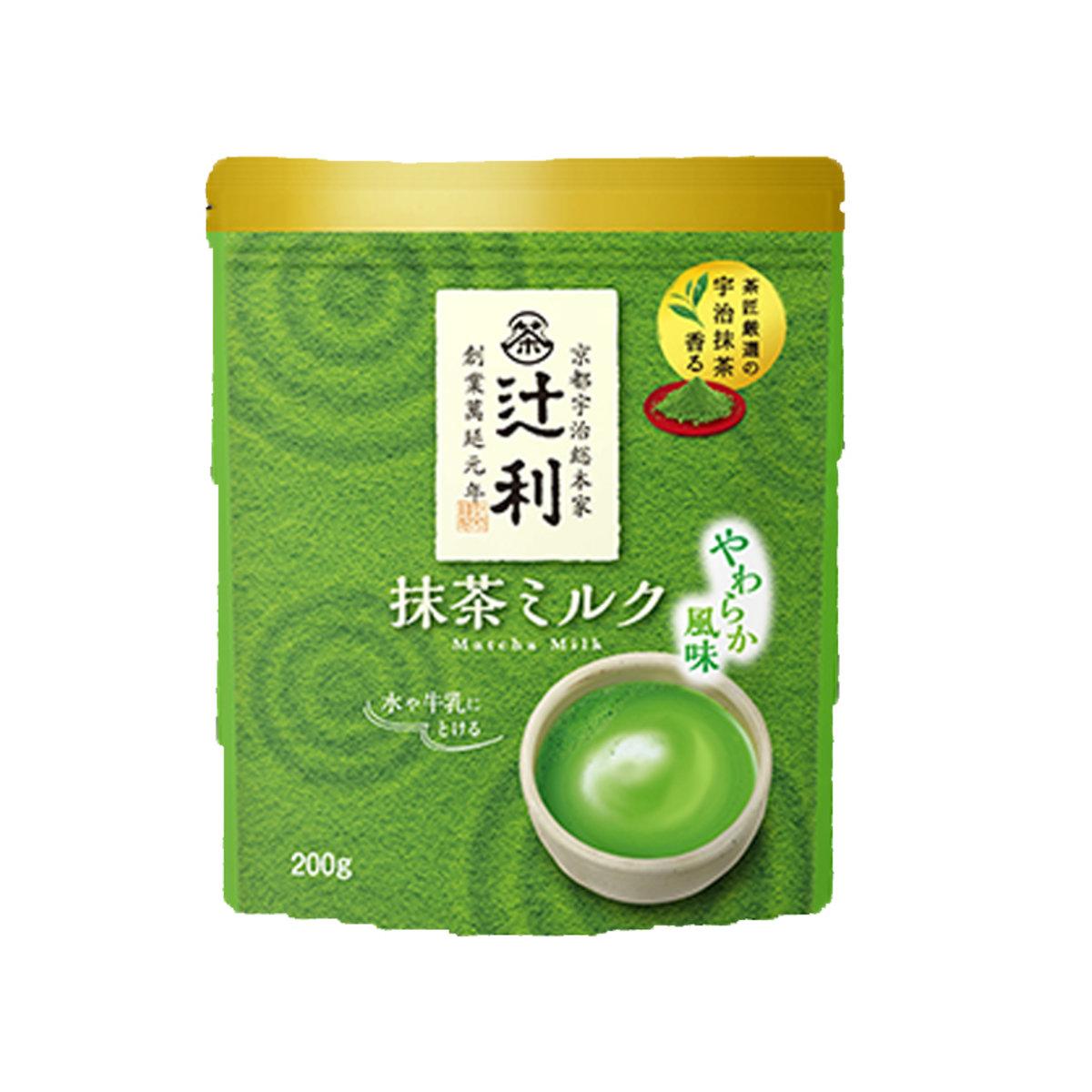 京都辻利宇治抹茶牛奶沖劑 200g  (4901305410197)