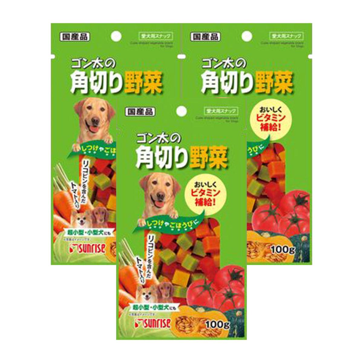 雜菜粒粒小食 100g x 3包 (4973321918889_3)