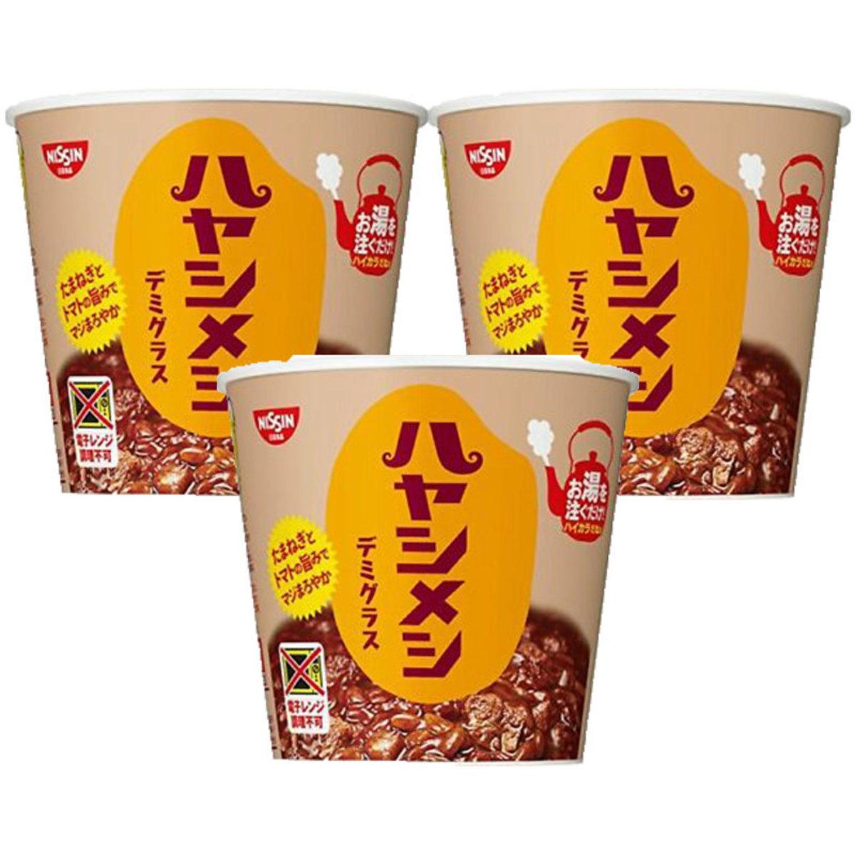 Hayashi-Meshi 濃汁牛肉燴飯 103g x 3杯 (4902105945483_3)