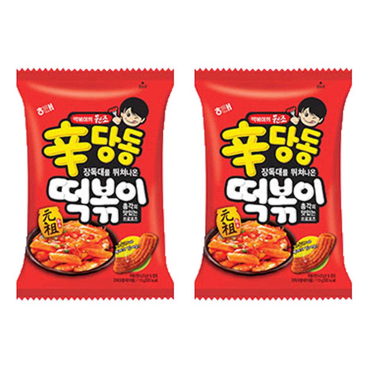 韓國海太 元袓辣年糕脆條 110g x 2包 (8801019606311_2)[海太]