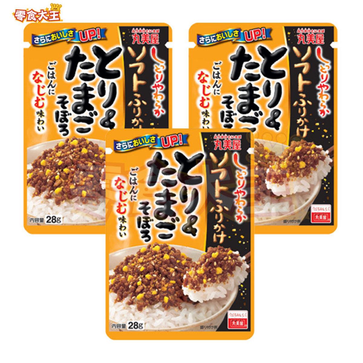 醬油雞肉雞蛋飯素 28g x 3包 (4902820917031_3)